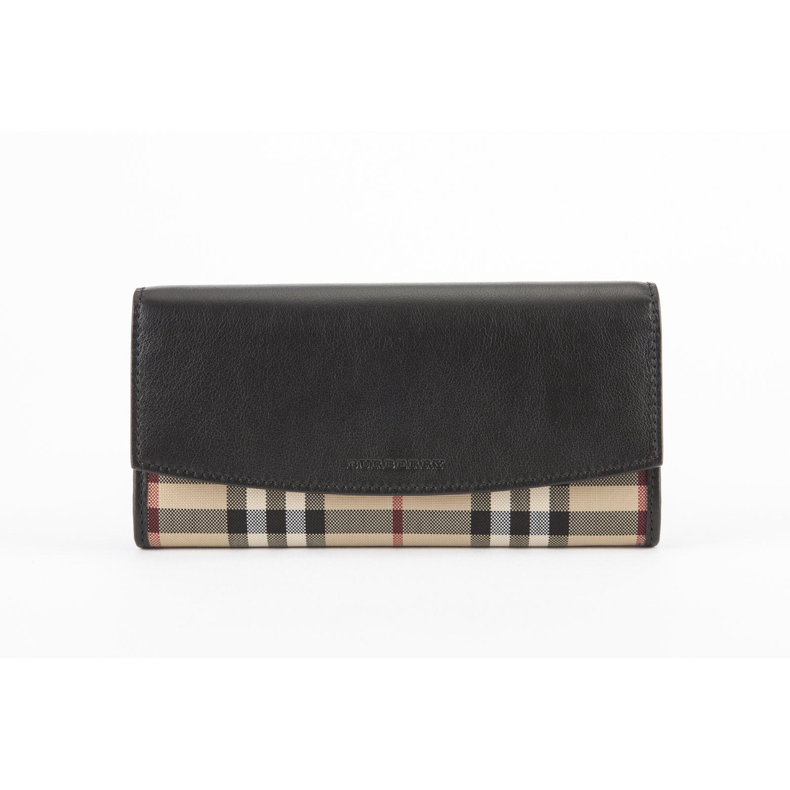 24171a1e9330 Burberry Wallets Wallets Leather Black ref.14492 - Joli Closet