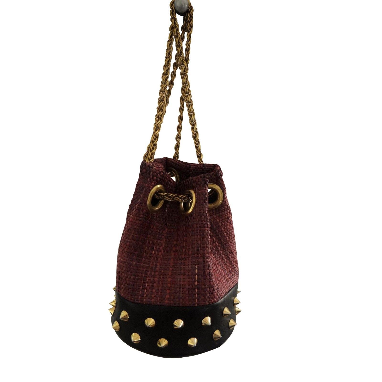 sacs main delphine delafon sacs main paille prune joli closet. Black Bedroom Furniture Sets. Home Design Ideas