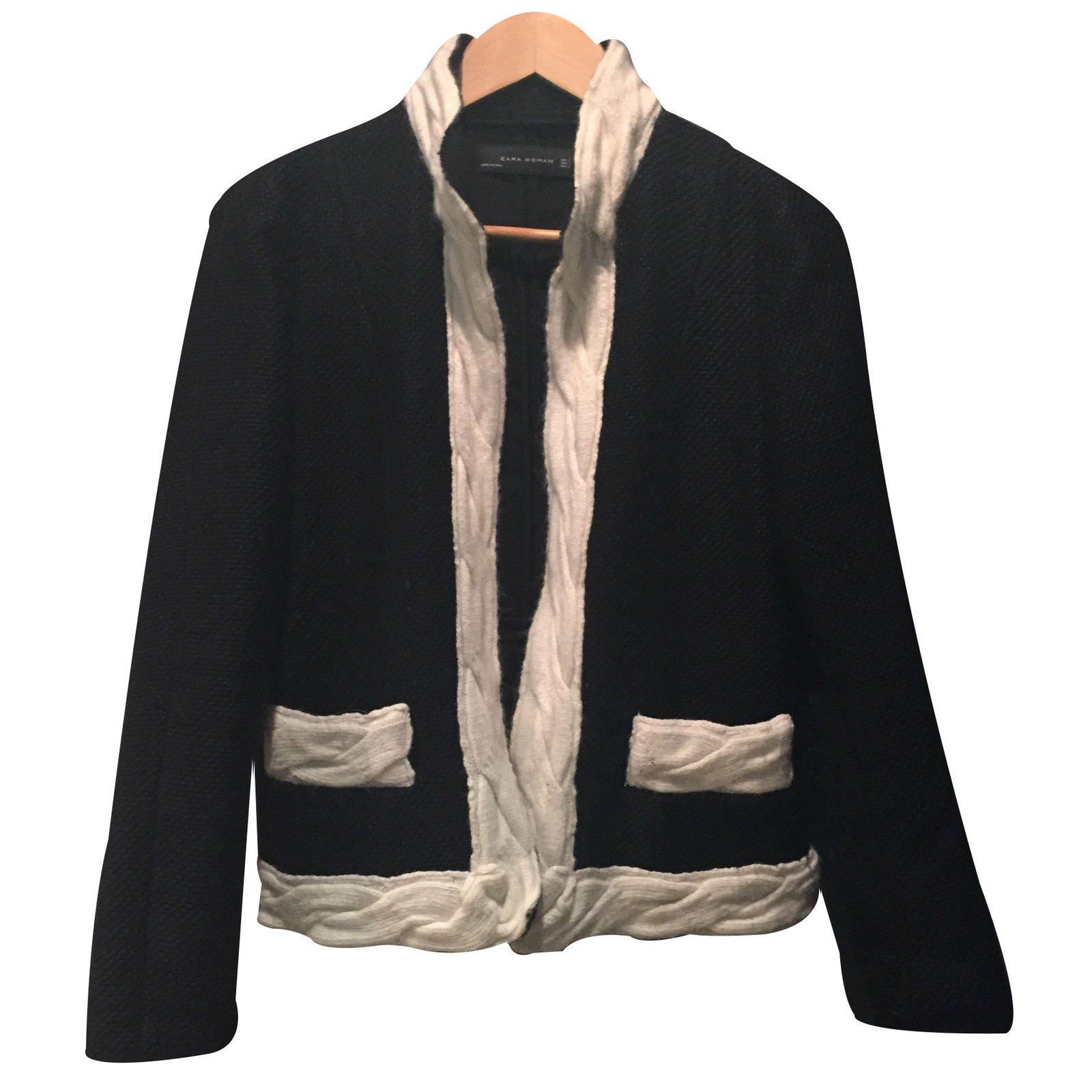 Noir Autre Vestes Closet 15433 Ref Joli Zara xfEEAwqSC 189e08bbf17