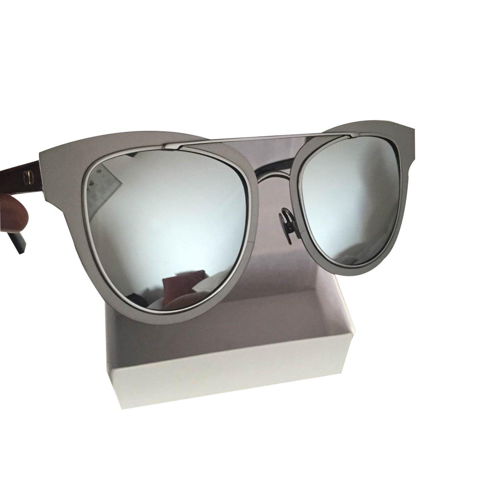 b9f9976056 Christian Dior Sunglasses Sunglasses Metal Grey ref.15553 - Joli Closet