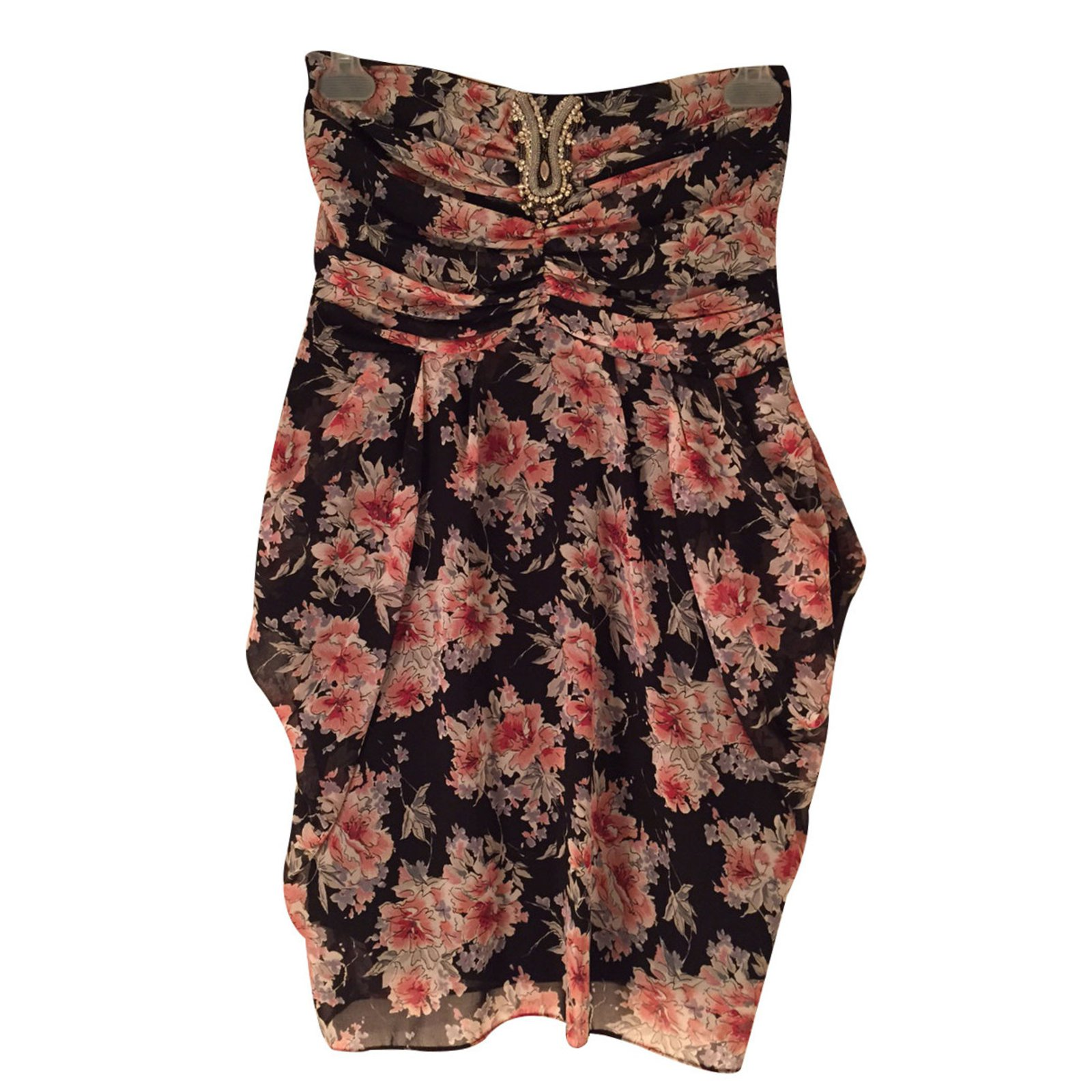 16418 Ref Bustier Sandro Closet Liberty Robes Joli Soie Robe xXq6wY7U