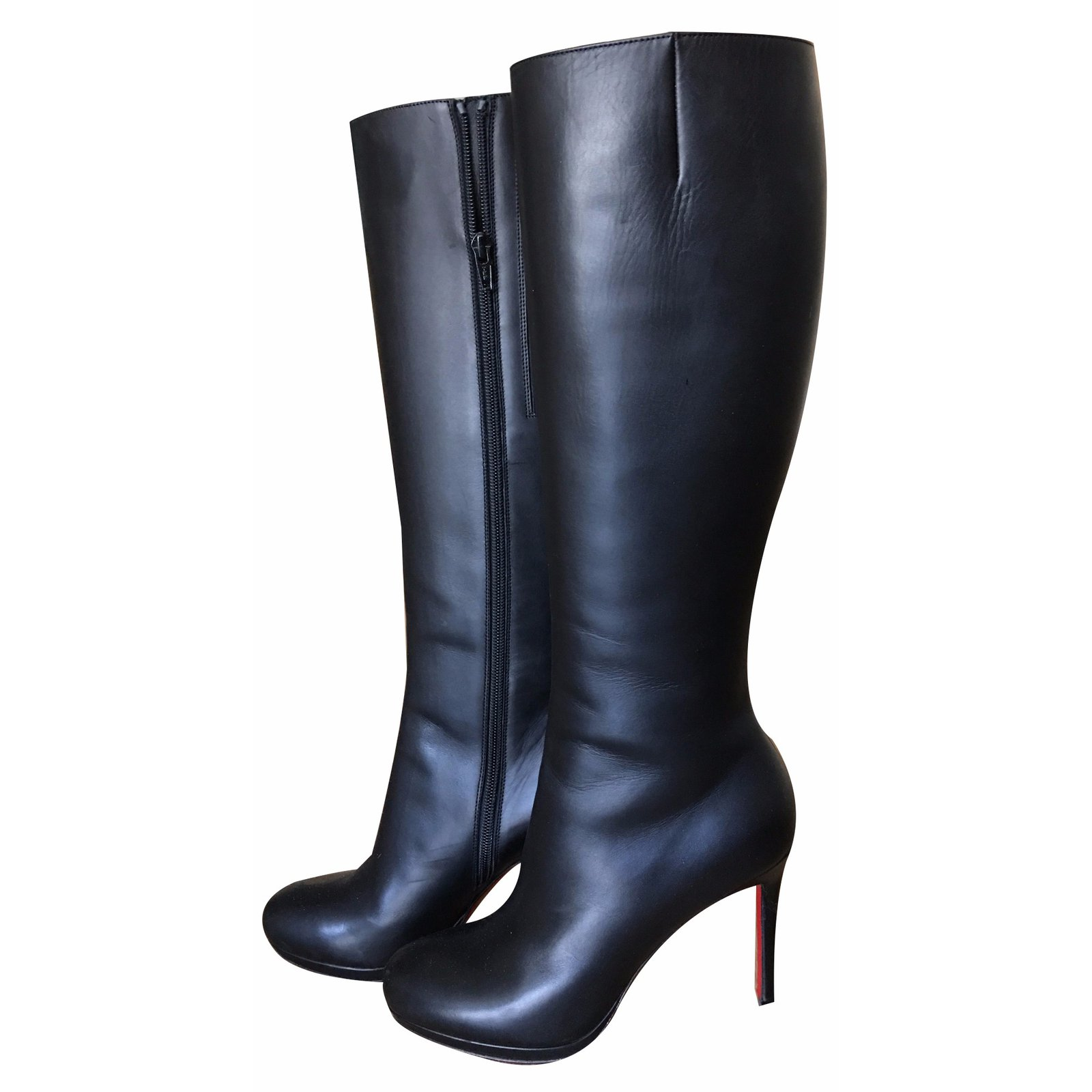 100% authentic c1289 ca0b8 Christian Louboutin Botalili boots