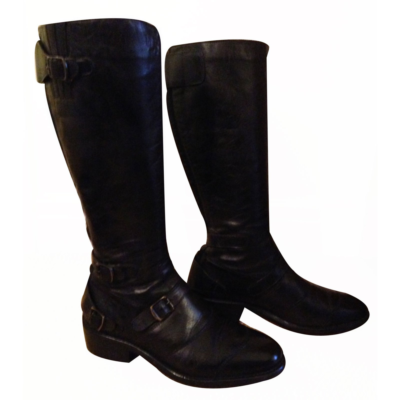 1562e81b99f36 Belstaff Belstaff Trialmaster boots Boots Leather Other ref.17490 ...