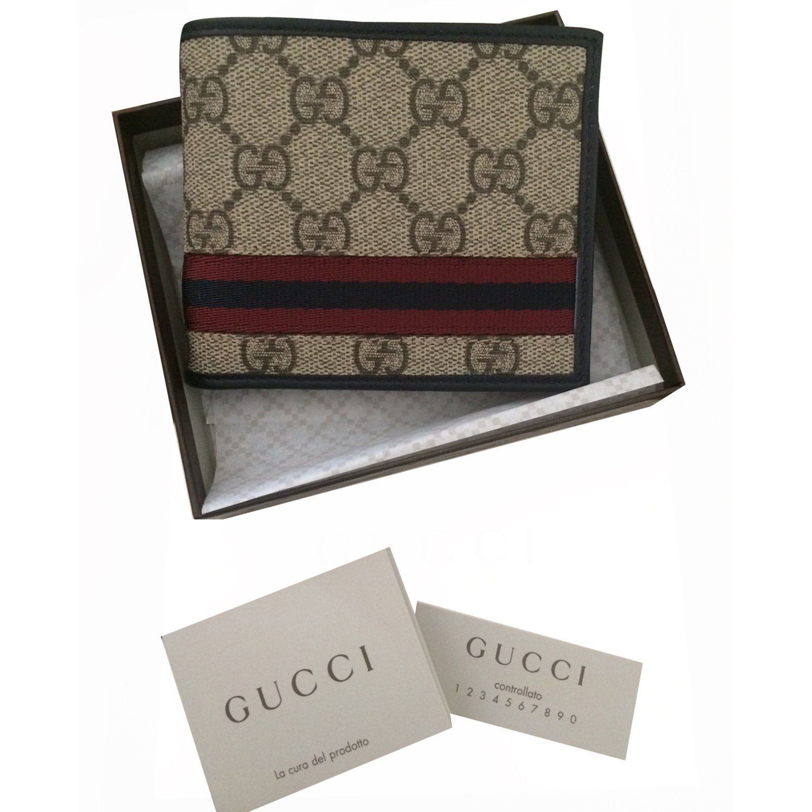 Gucci Homme Portefeuille