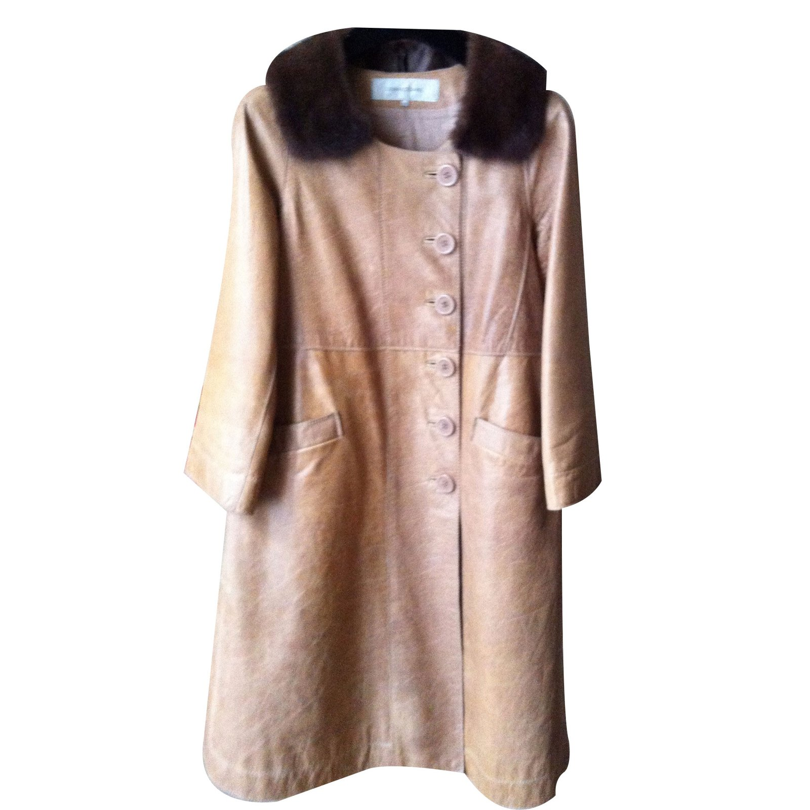 Veste en cuir courte femme pas cher