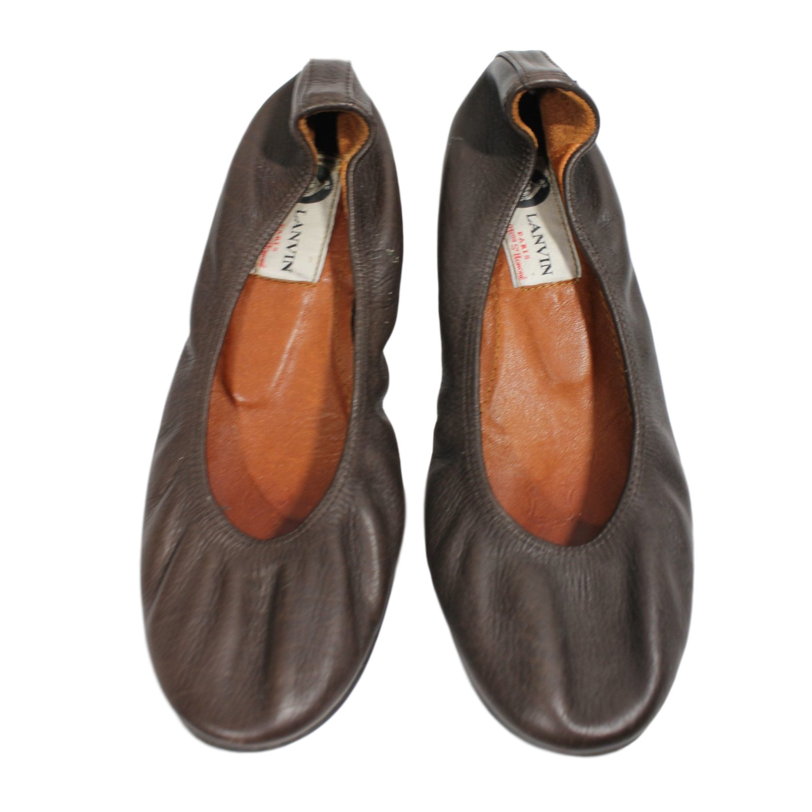 Lanvin Ballerinas Ballet flats Leather