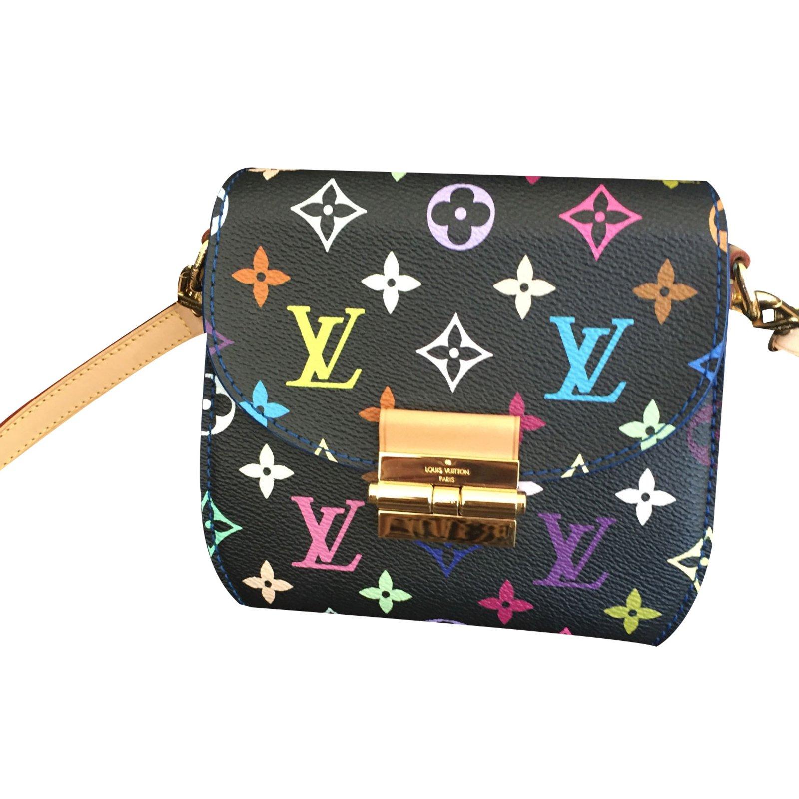 Louis Vuitton Heartbreaker Multicolor Handbags Cloth Multiple Colors Ref 19525
