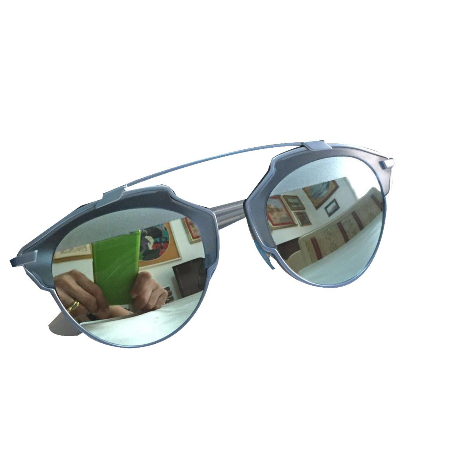 59c3fbde1fa6 Dior Sunglasses Sunglasses Metal Blue ref.19744 - Joli Closet