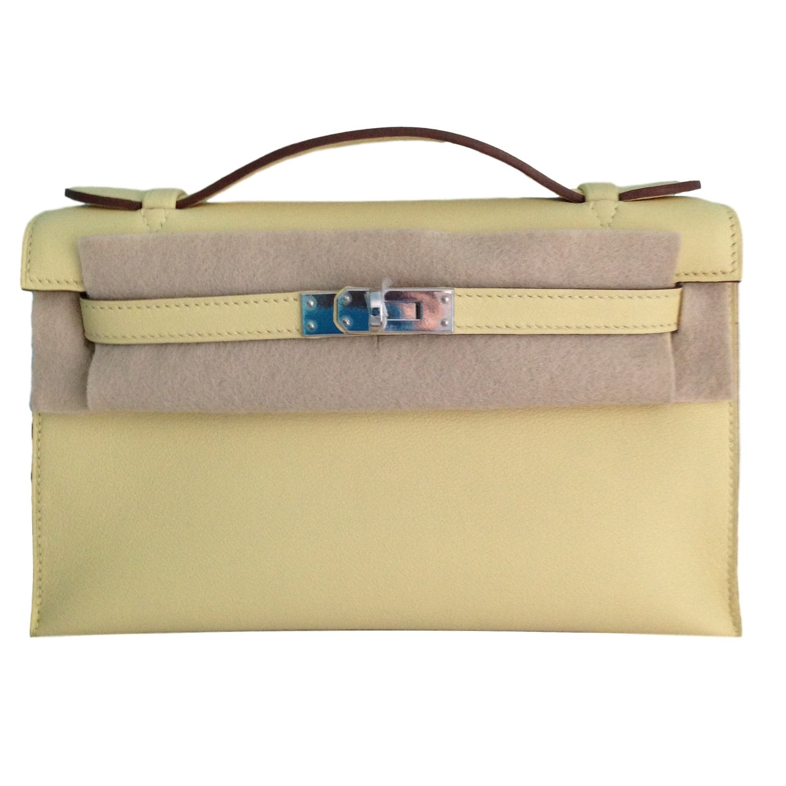 9e004caf6162 italy pochettes hermès kelly mini 22 cuir jaune ref.19813 2ac47 38c5a
