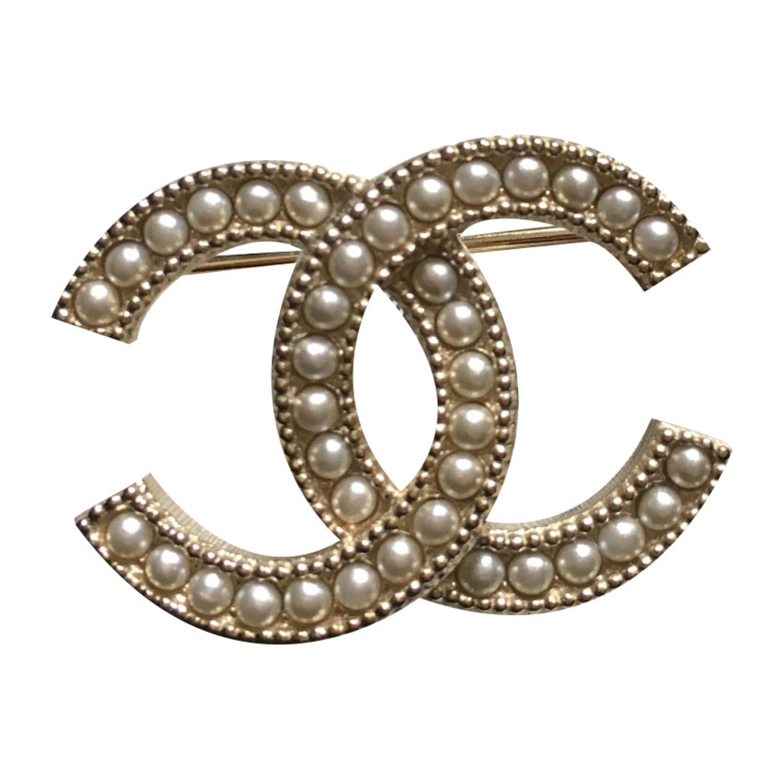 swarovski brooch chanel silver products consignment crystal vault cc designer