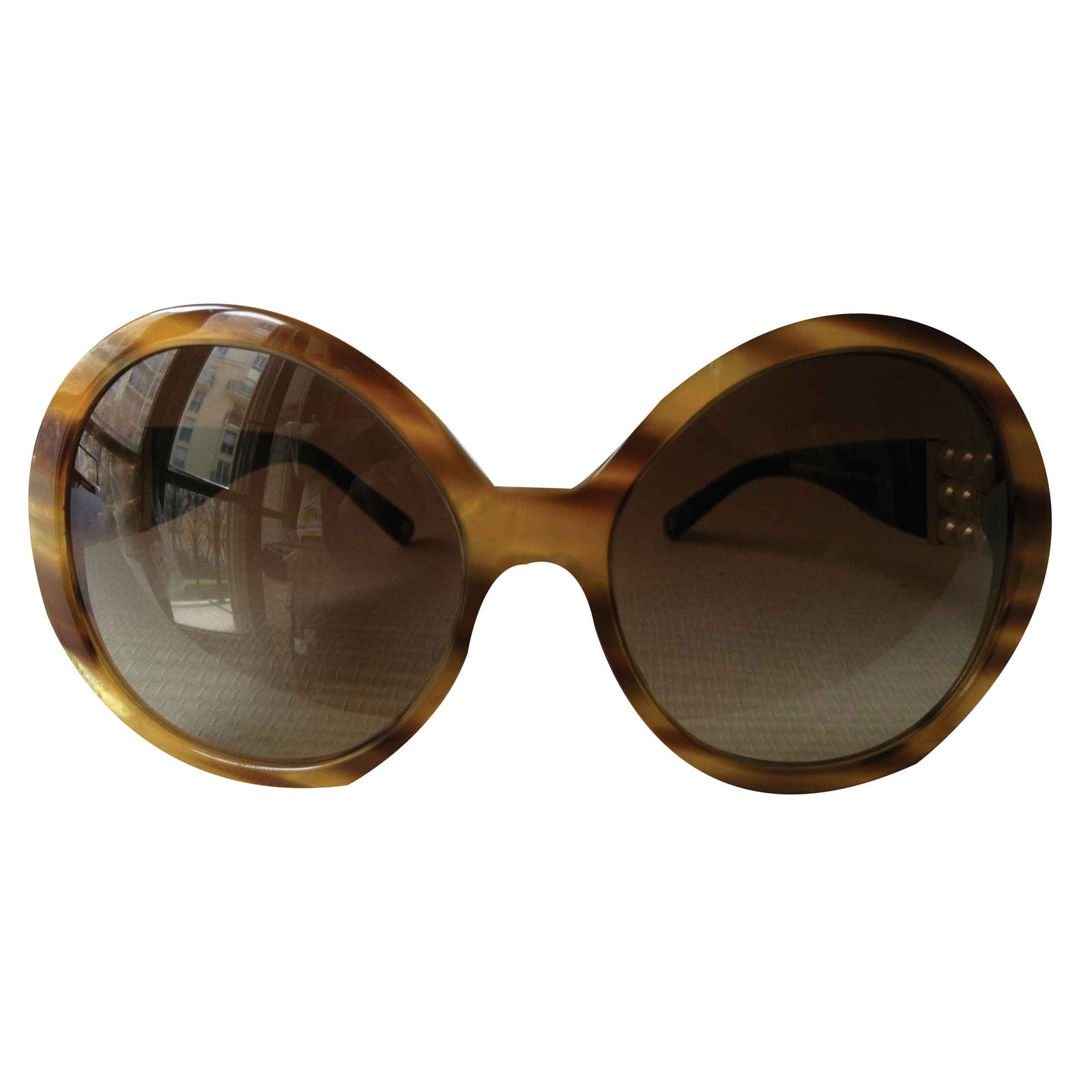 cde75c37cb5 Chanel Sunglasses Sunglasses Acetate Light brown ref.19929 - Joli Closet