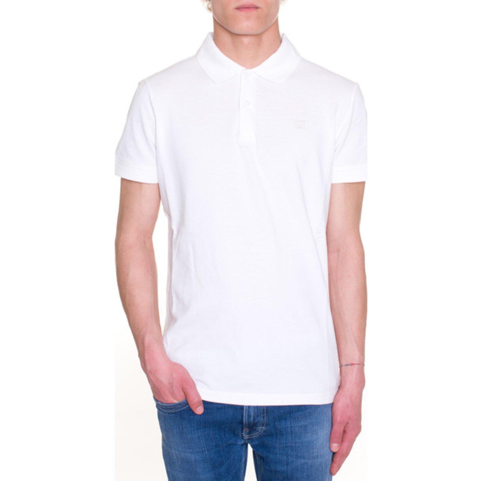 outlet store 53c8e 4b59e Class roberto cavalli new polo shirt white