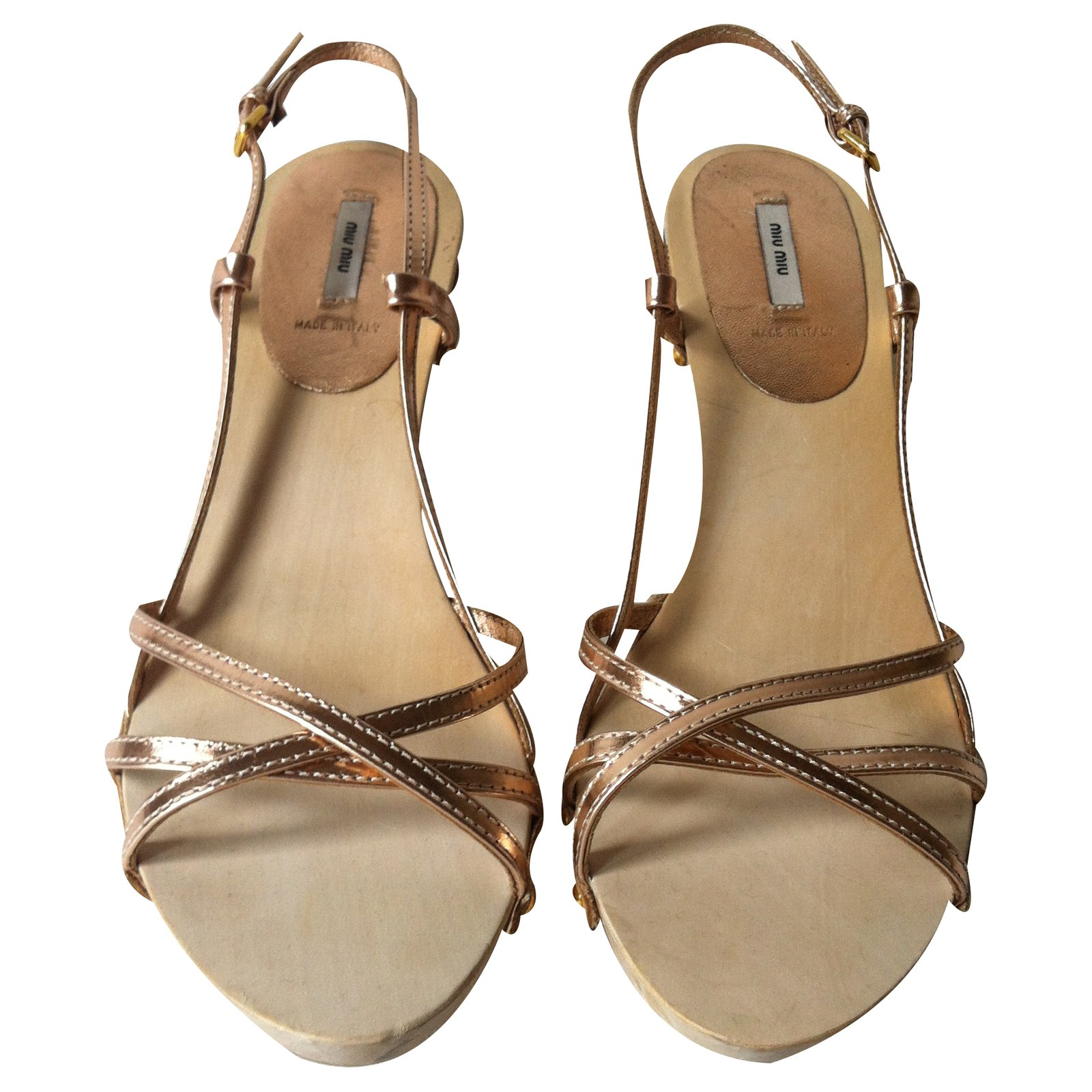 Miu Miu Sandales Miu Sandales Baroque Baroque Sandales Collection Collection c43LR5Ajq