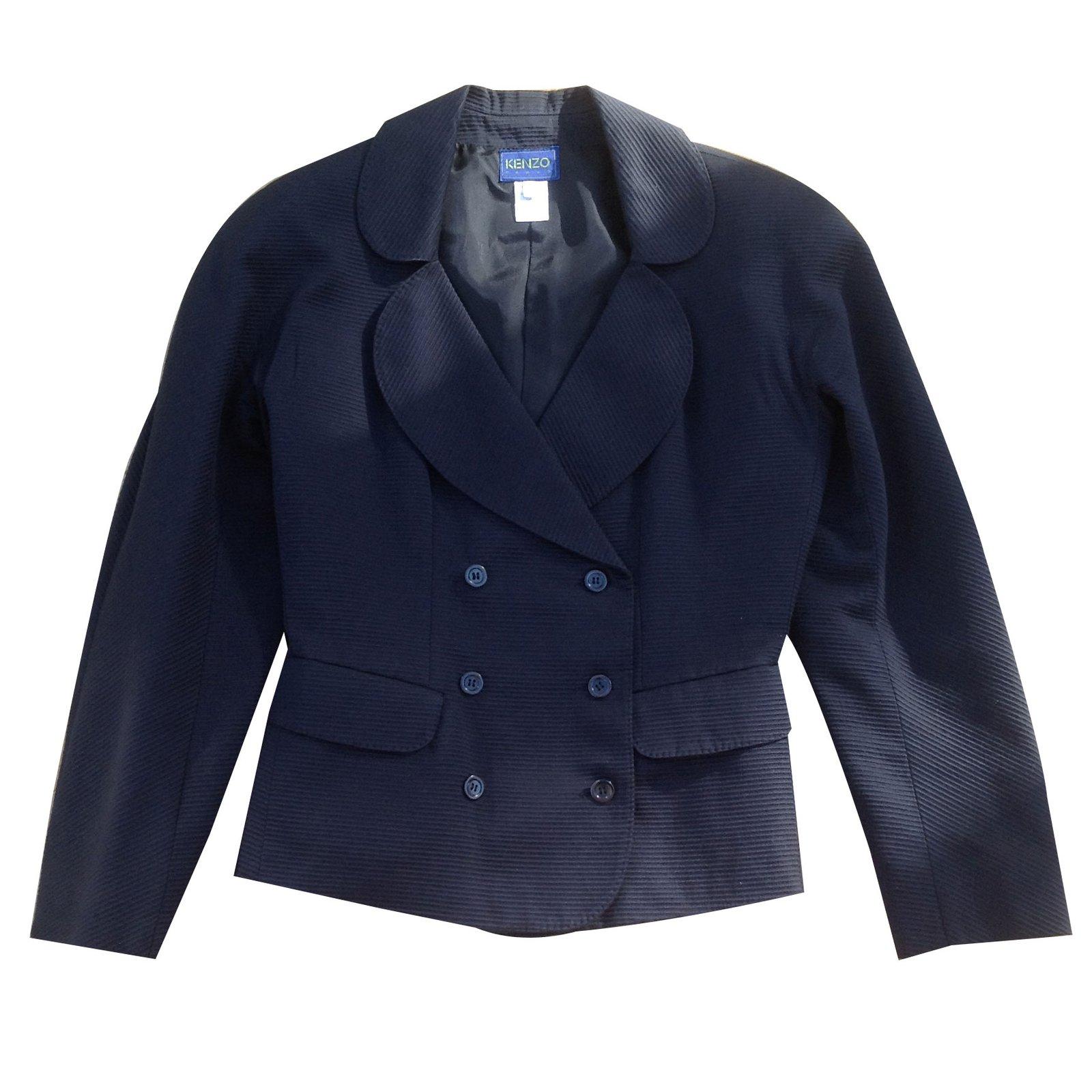 vestes kenzo vestes coton autre joli closet. Black Bedroom Furniture Sets. Home Design Ideas