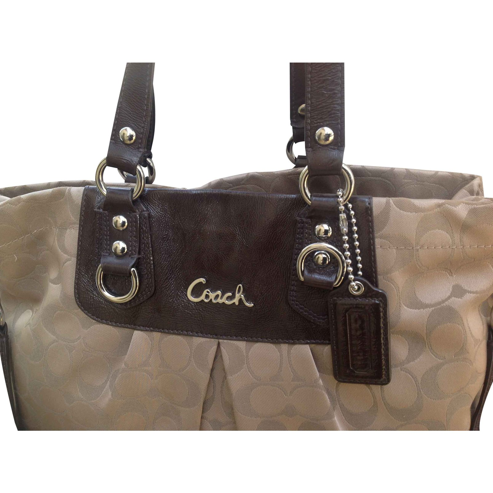 be614d5bac76 Coach Ashley Signature Satchel Tote Handbags Other Multiple colors ref.21530