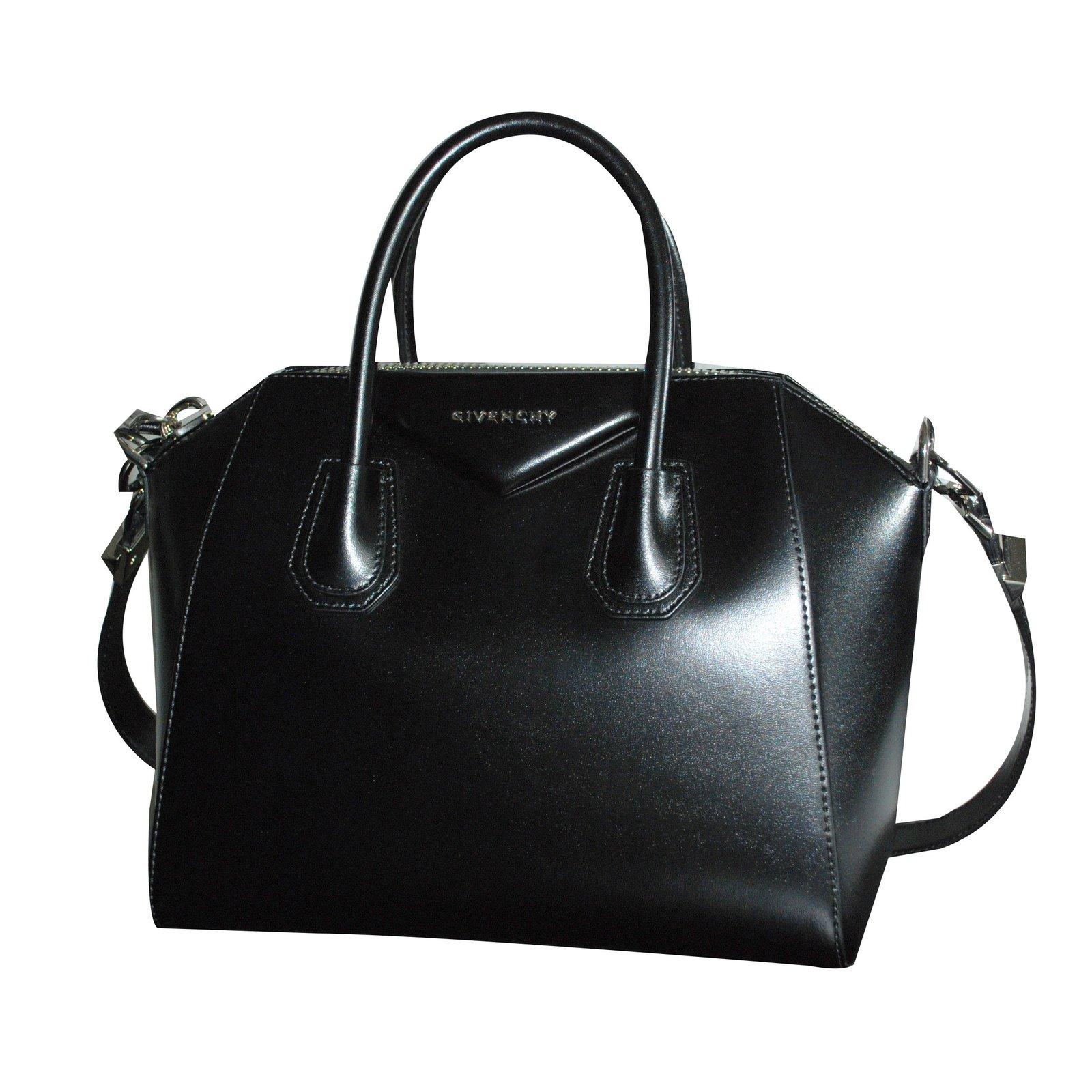 givenchy sac à main antigona cuir noir