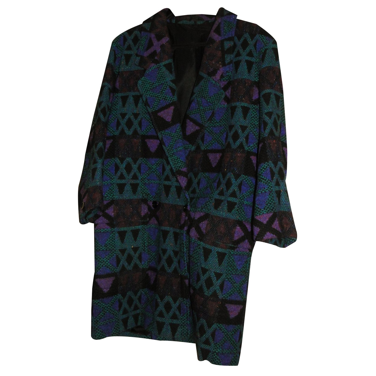 Autre Marque  Olivier Strelli  Coat Coats, Outerwear Wool Blue ref.22951 262bafb3427