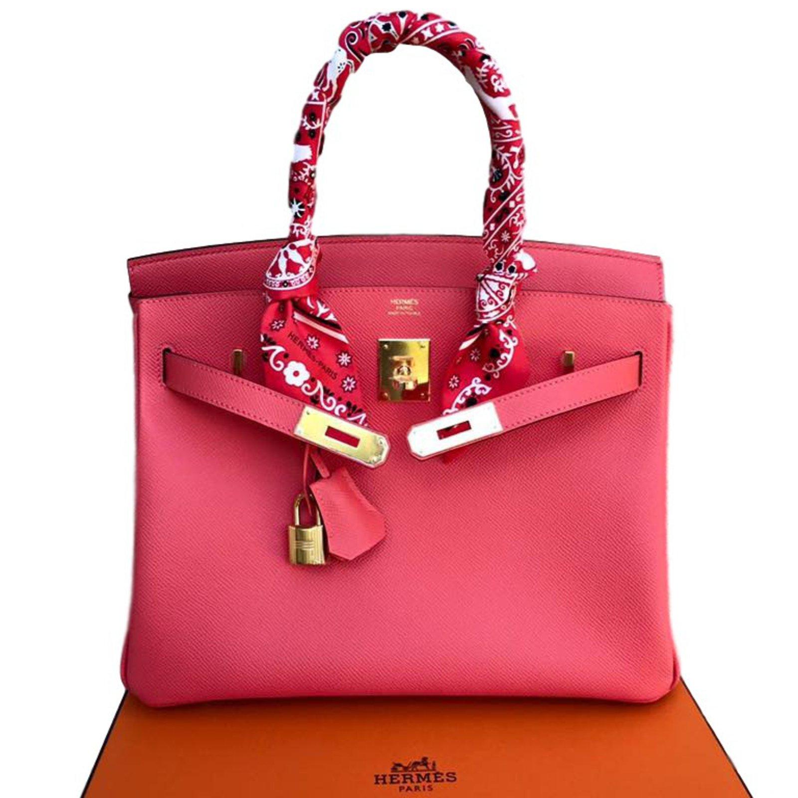 9c1f9568ab1f ... australia hermès birkin 30 handbags leather pink ref.23311 cde14 8d69c