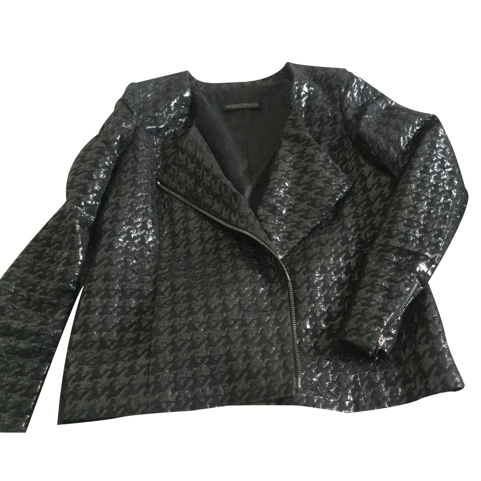 Veste coton noir