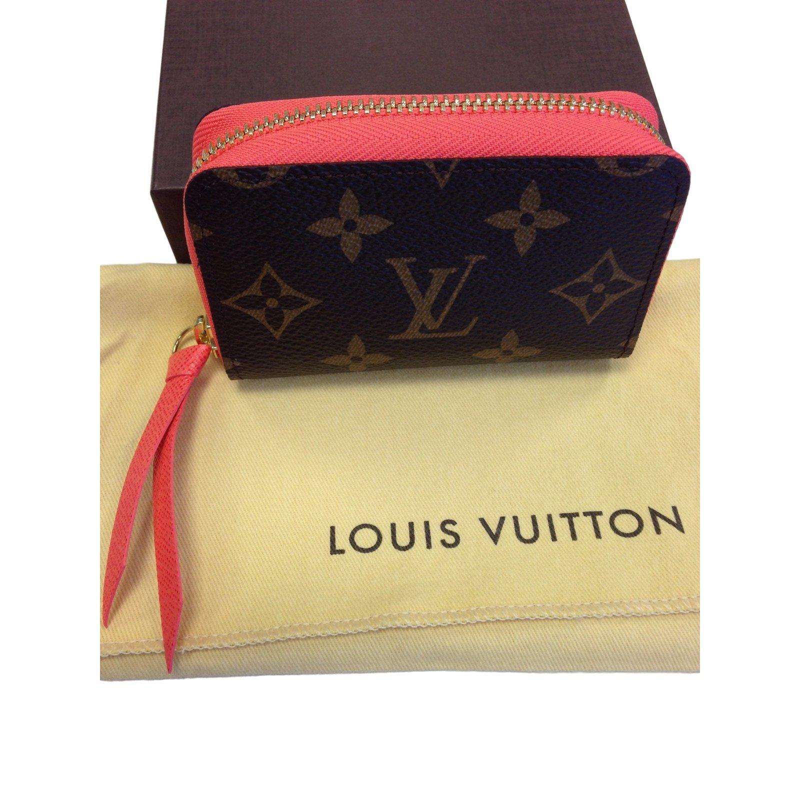 4d518104e567 Louis Vuitton ZIPPY MULTICARTES CARD HOLDER in POPPY Purses