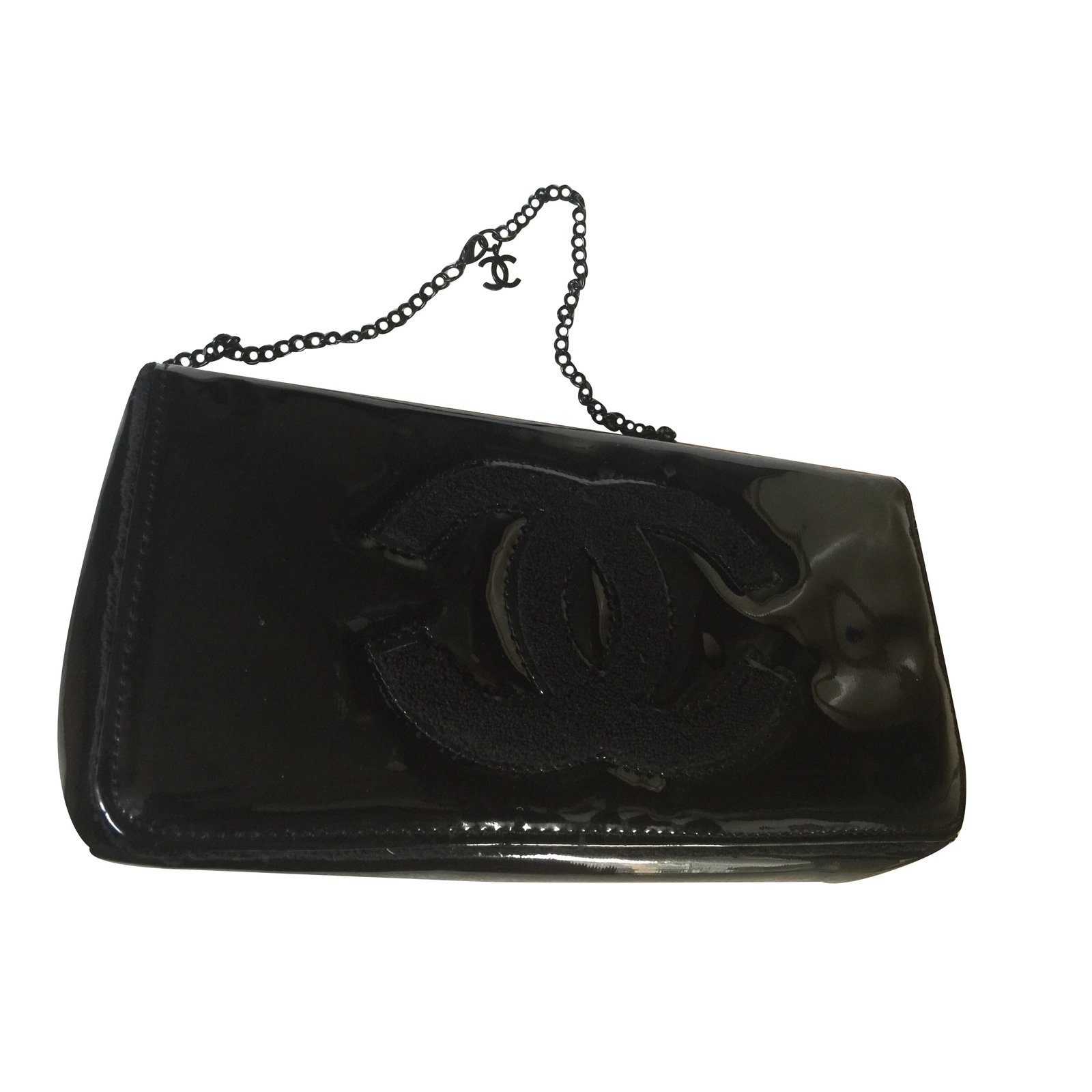 aa72e54e990e Chanel Clutch Bag Vip Gifts Other Black Ref 24364 Joli Closet