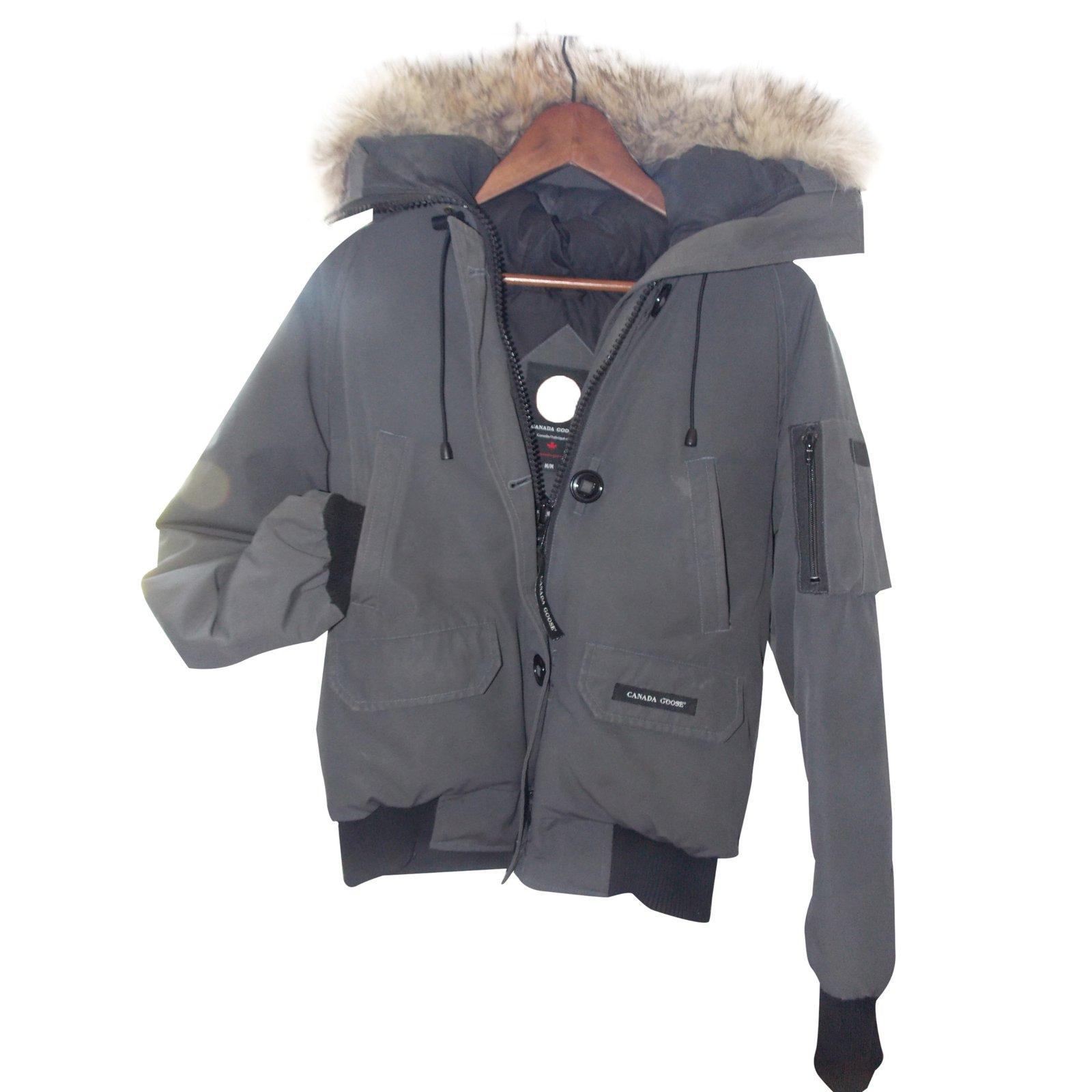 dark grey canada goose jacket