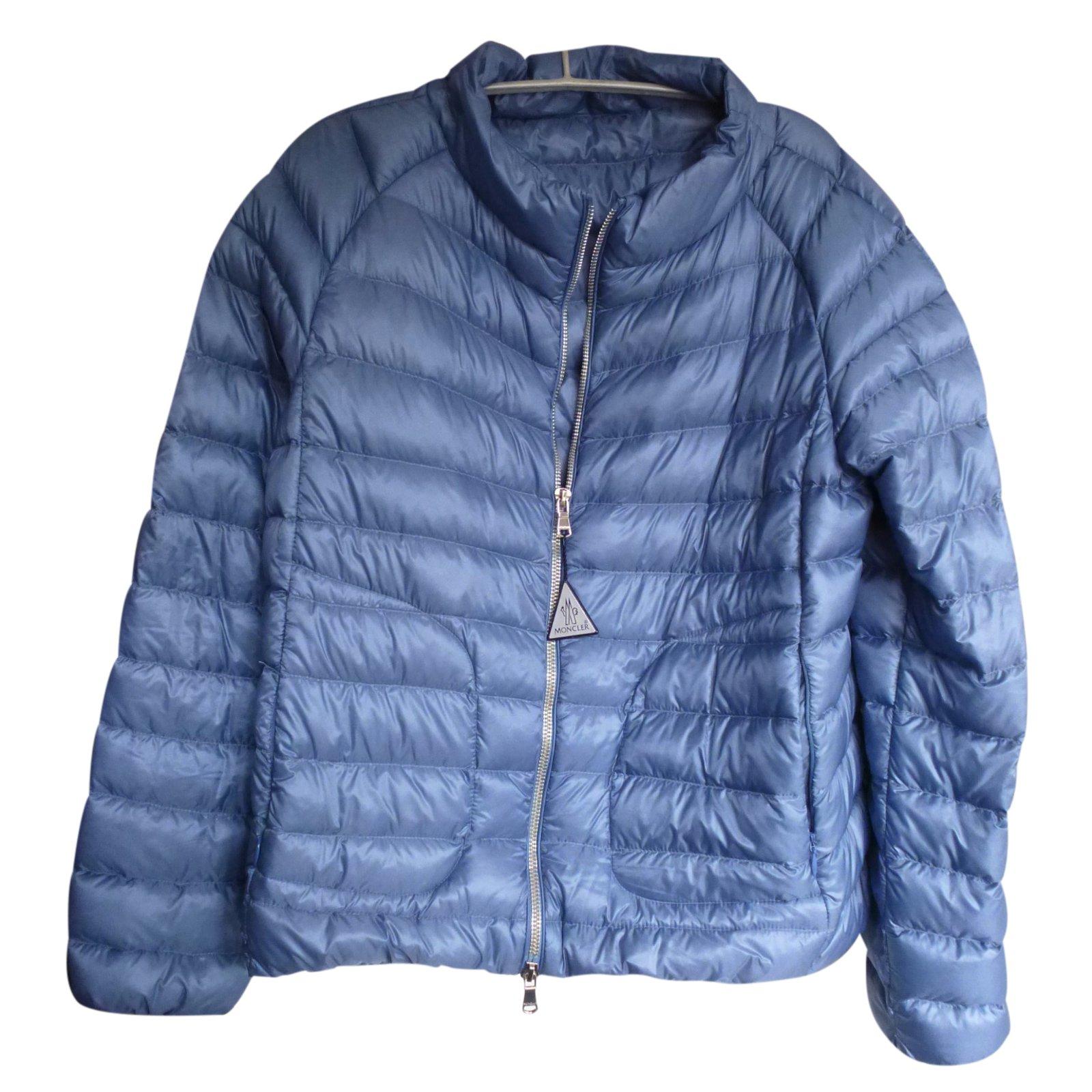moncler blue jacket