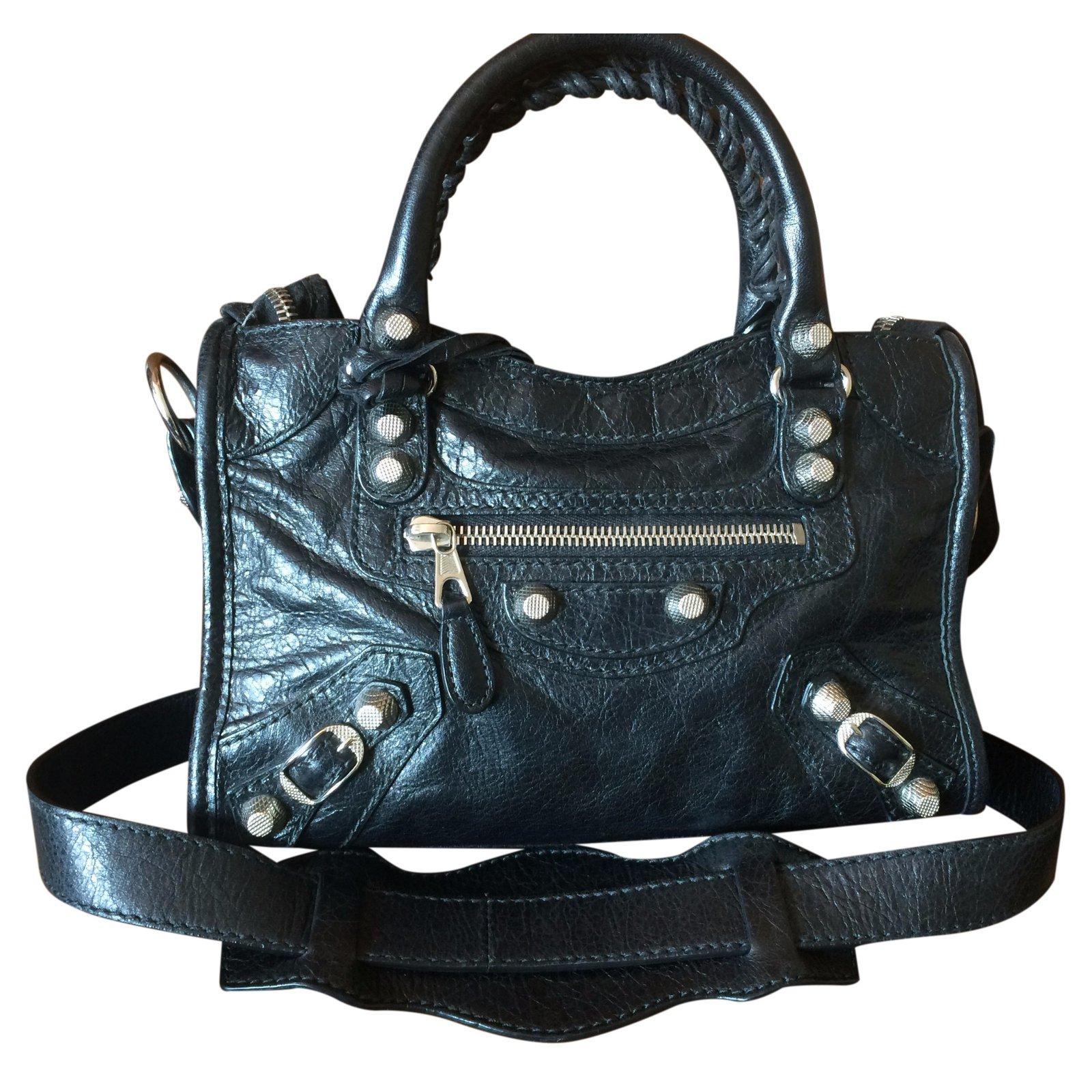 7ecb39e61967 Balenciaga Handbag Handbags Leather Black ref.25470 - Joli Closet
