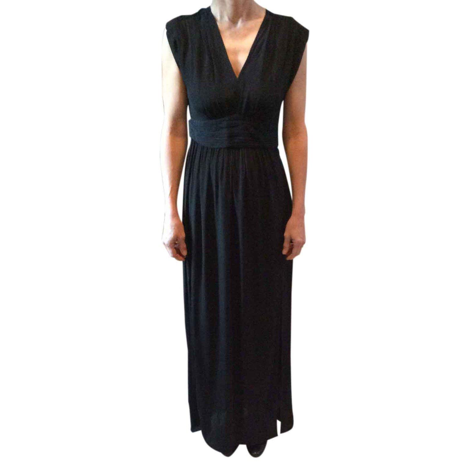Gerard Darel Dress Dresses Viscose Black Ref 25564 Joli Closet
