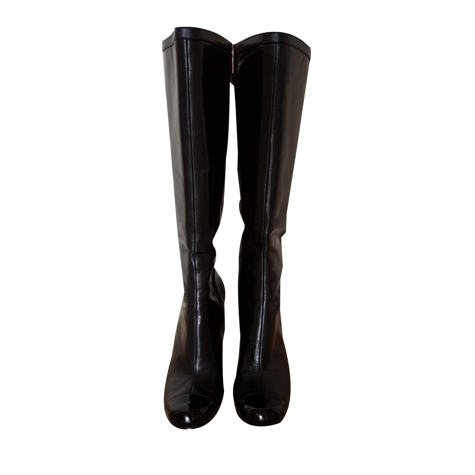 Guess Boots Boots Leather Black ref