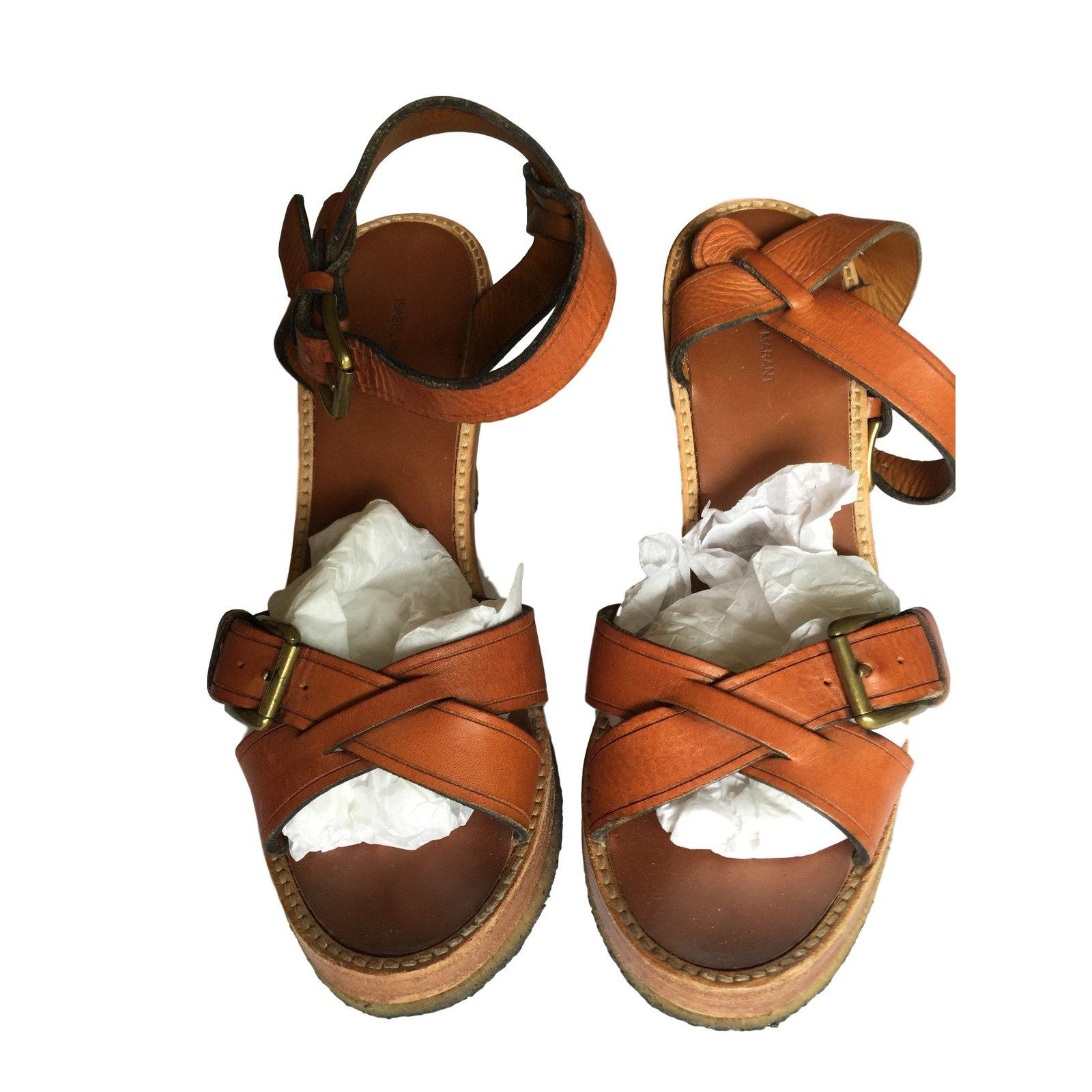 Sandales en cuirIsabel Marant QJm0oT