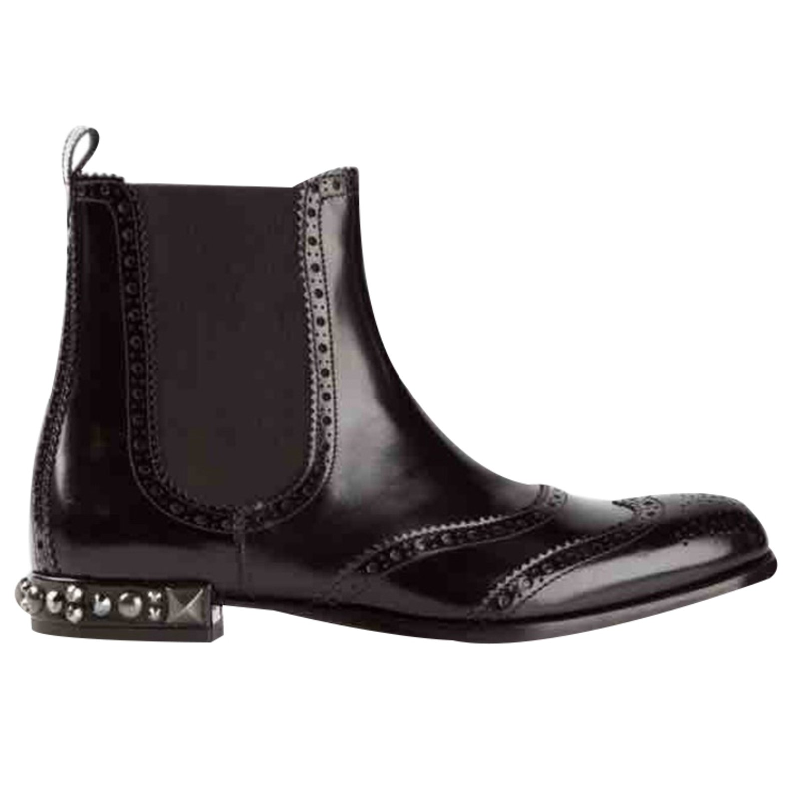 Dolce   Gabbana Ankle Boots Ankle Boots Patent leather Black ref.26308 7143550f4191