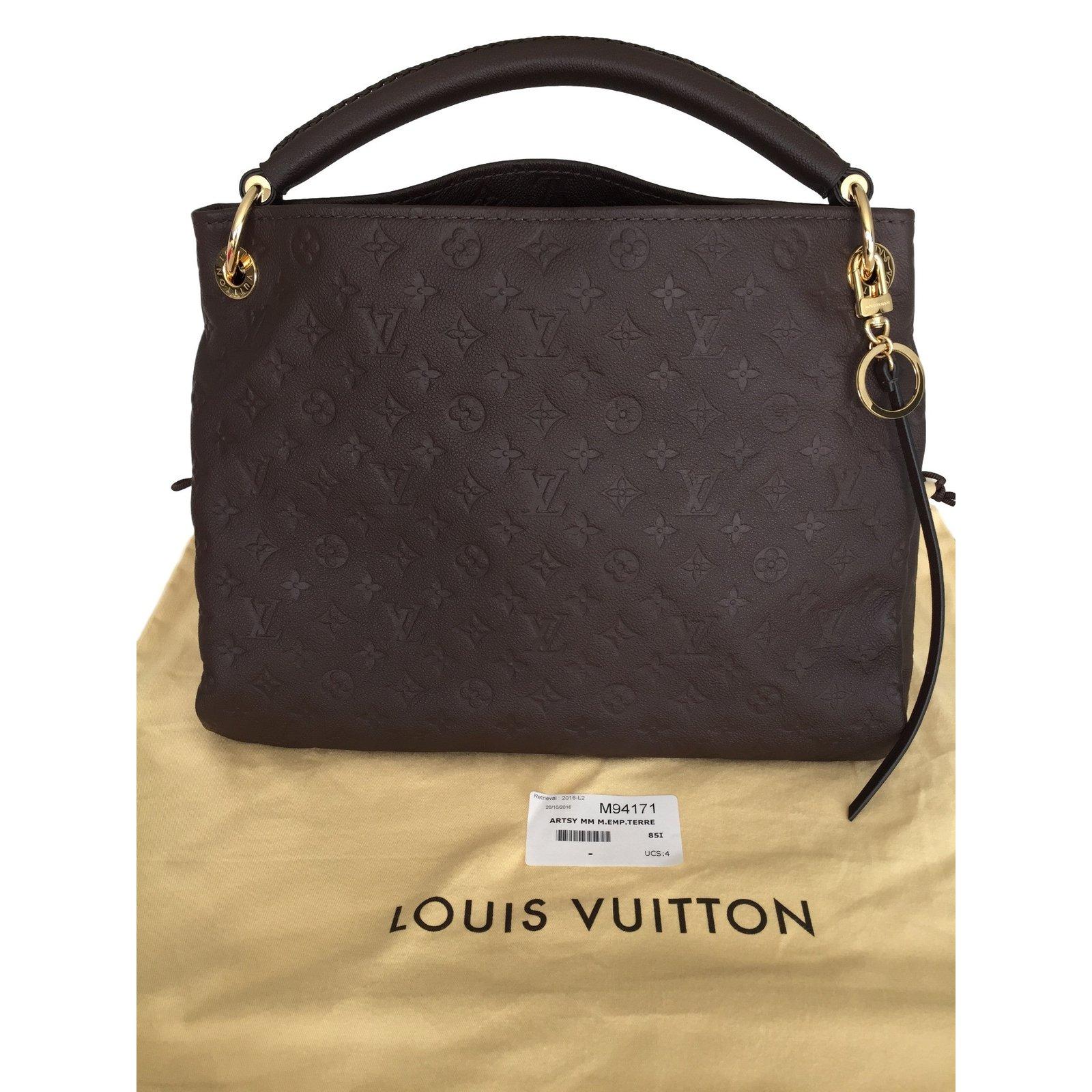 61ff729a3964 Sacs à main Louis Vuitton Artsy Cuir Marron ref.26692 - Joli Closet