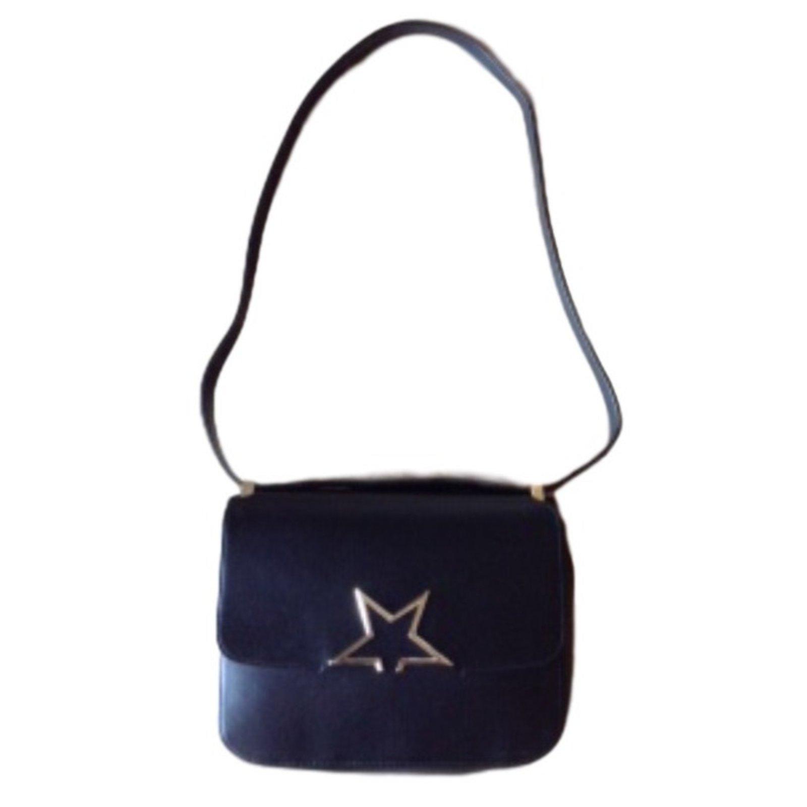 Golden Goose Handbag Handbags Leather Black Ref 27054