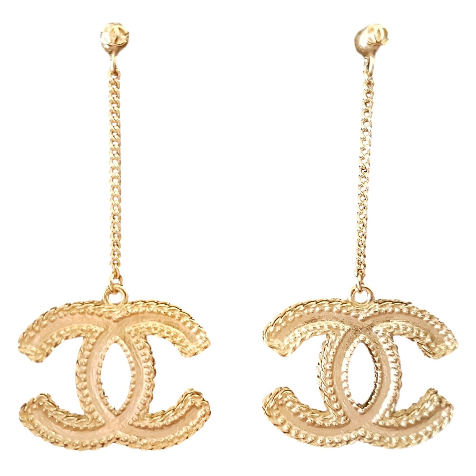 channel jewelry earrings chanel earrings 2017 collection unworn earrings other 2100