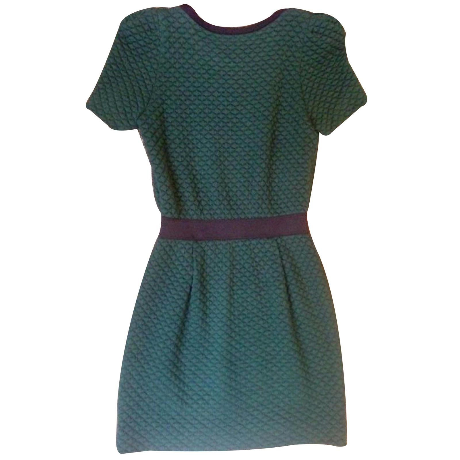 Robes Sandro Robe Autre Vert ref.27243 - Joli Closet