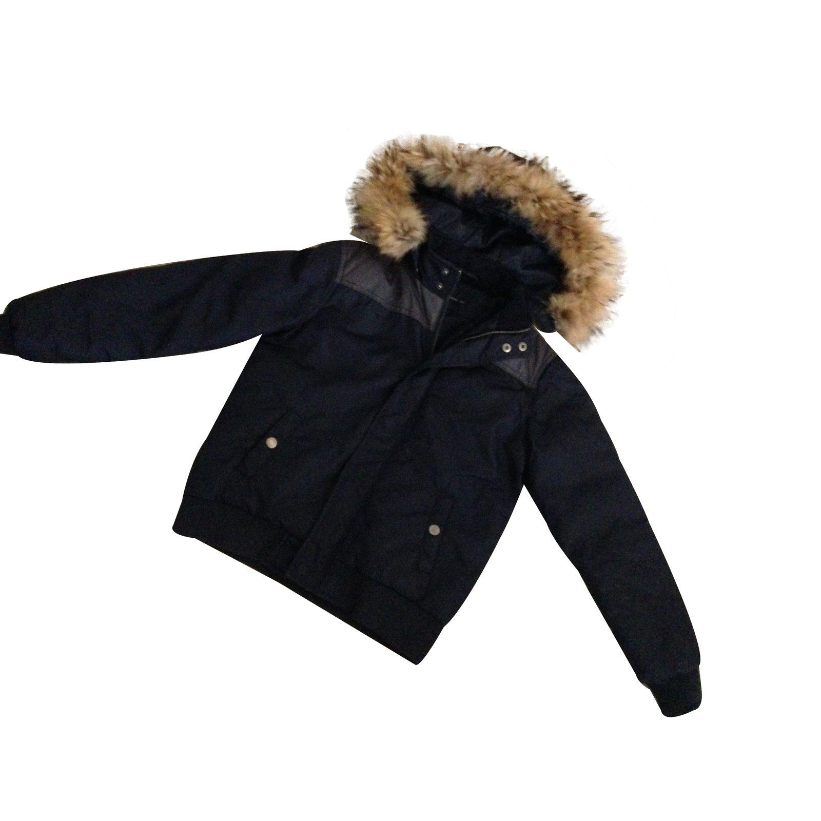 blousons manteaux gar on teddy smith manteau gar on. Black Bedroom Furniture Sets. Home Design Ideas