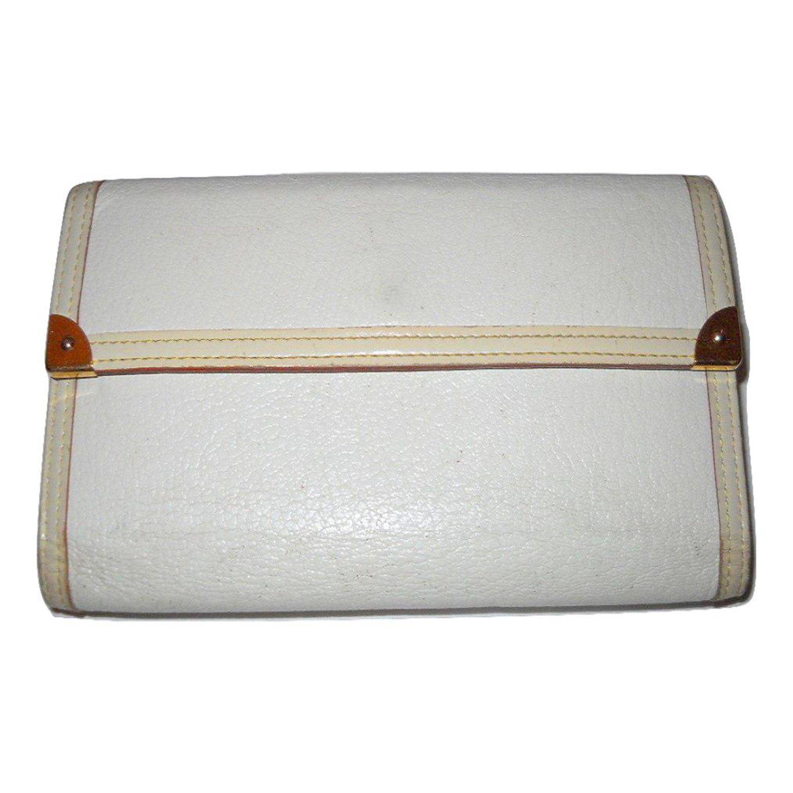 Louis Vuitton Wallet Wallets Leather White Ref 27665