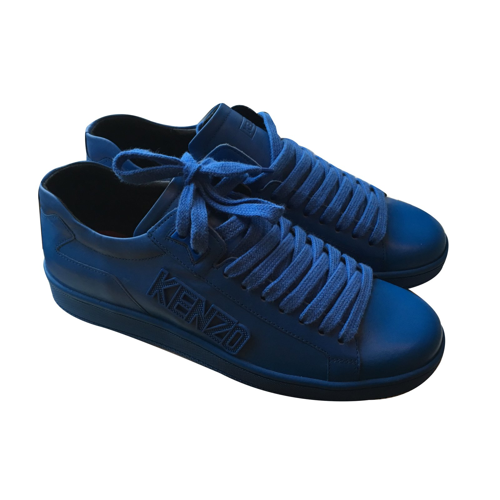 Kenzo Sneakers Sneakers Leather Blue