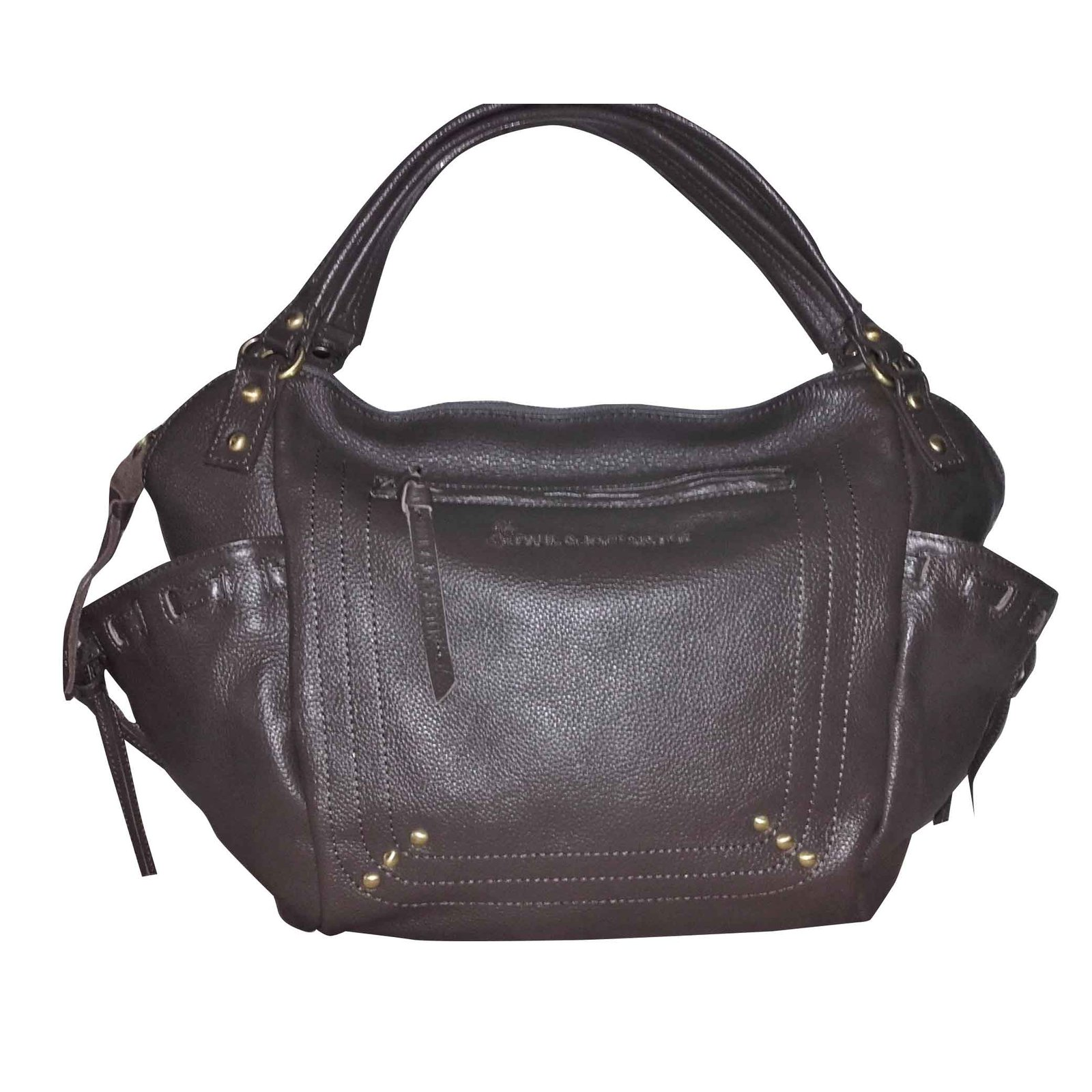 Paul Joe Sister Handbag Handbags Leather Brown Ref 28137