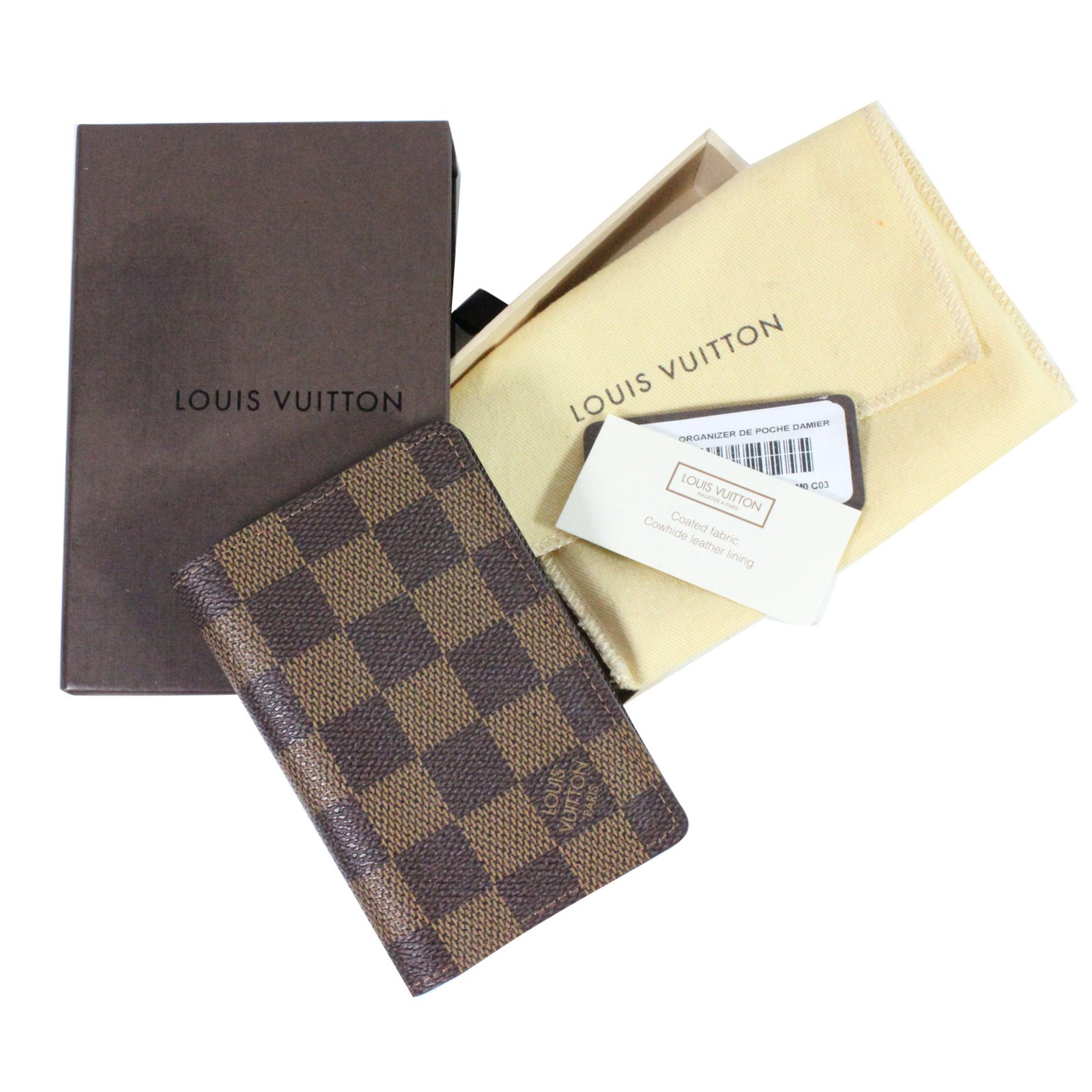 portefeuilles louis vuitton porte carte damier autre autre joli closet. Black Bedroom Furniture Sets. Home Design Ideas
