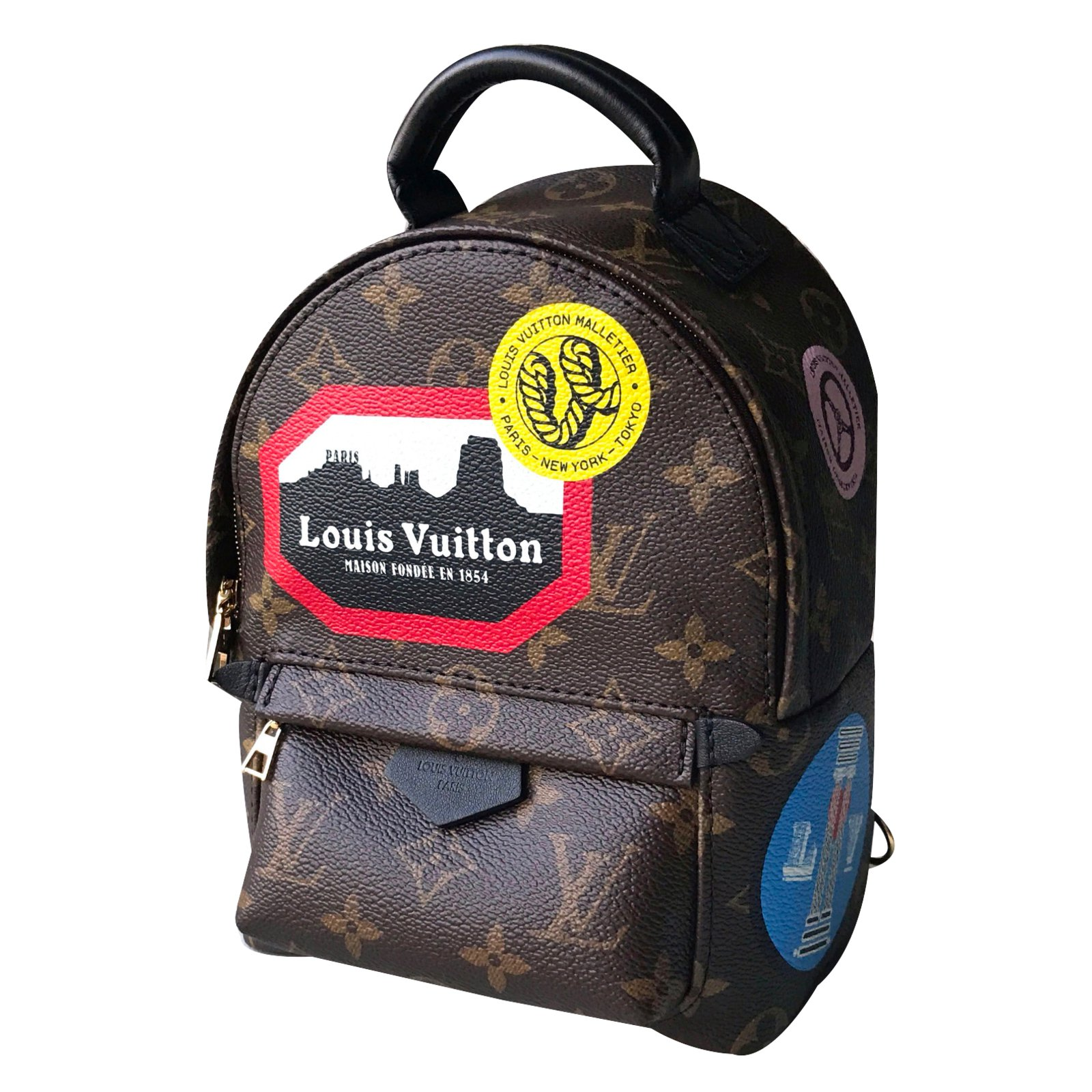 567770eb08e Louis Vuitton Small Backpack Womens - CEAGESP