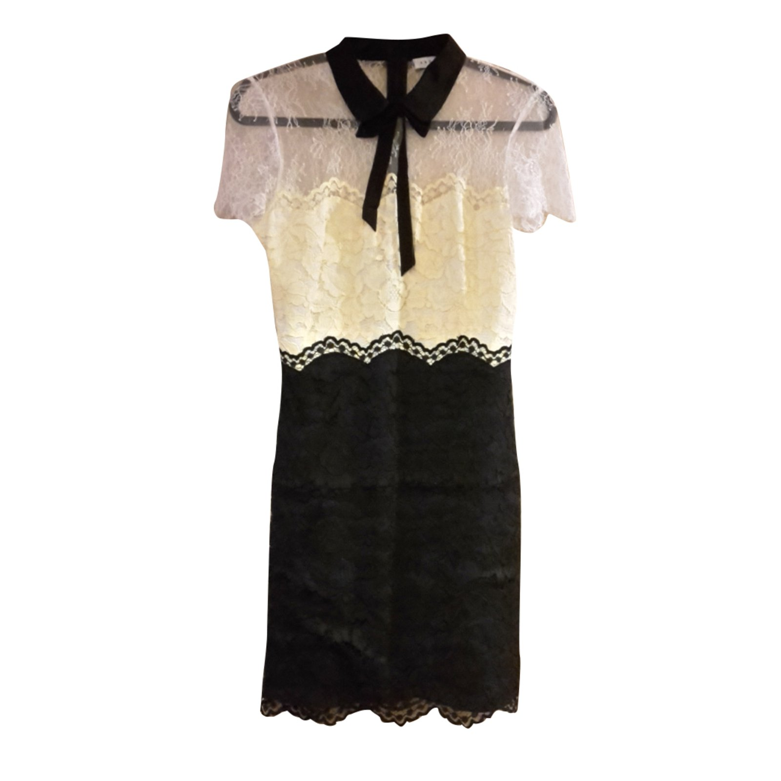 Sandro Dress Dresses Polyamide Multiple Colors Ref 29089 Joli Closet