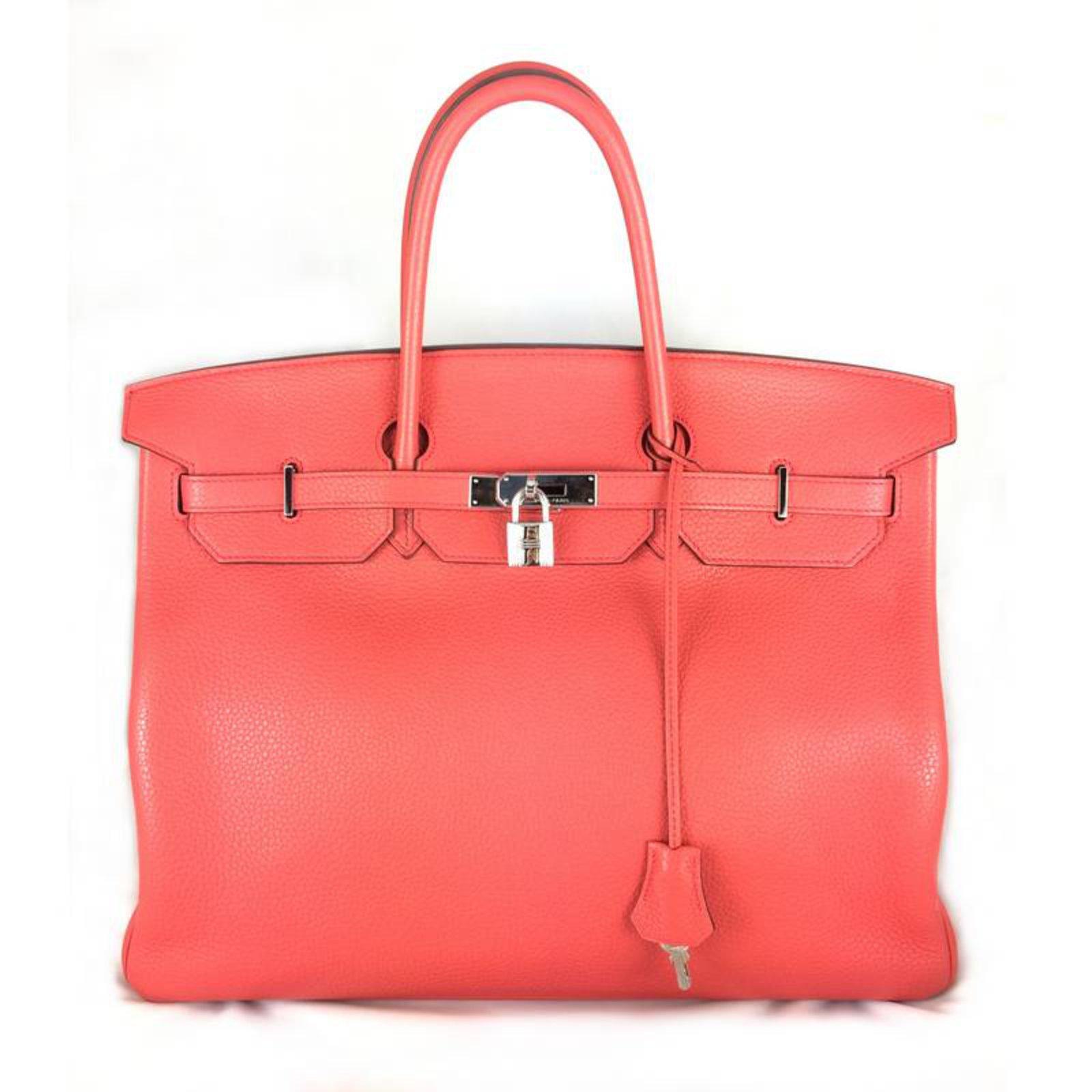 0c14b14095 ... clearance hermès birkin 40 bougainvillea togo handbags leather pink  ref.29227 42220 16c3f ...
