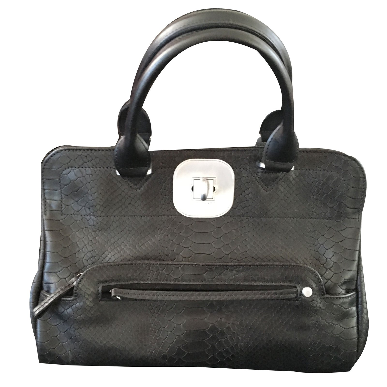 Leather Ref Gatsby Longchamp Joli 30303 Nero Handbags Armadio xn4PEO6