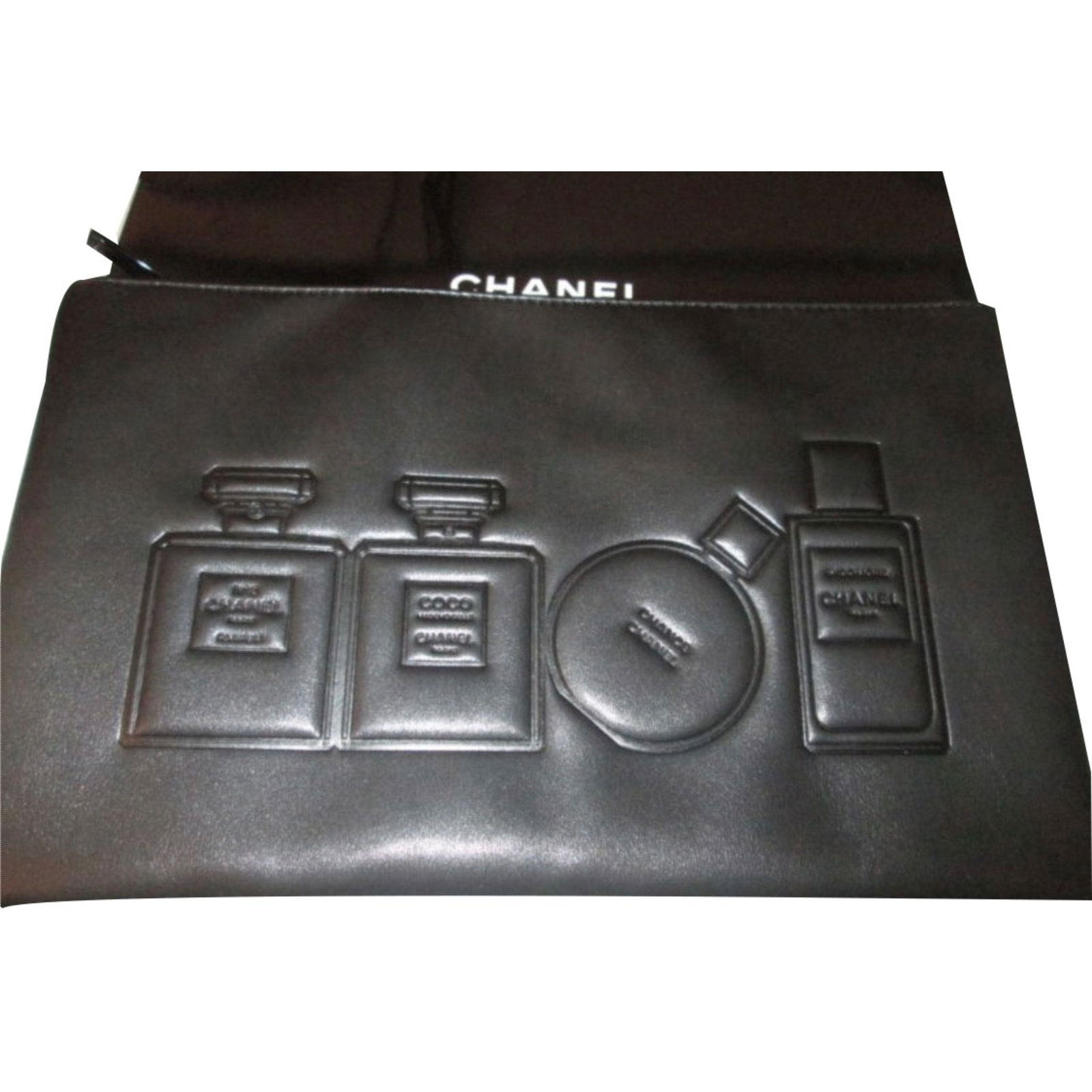 b1758521acf6 Chanel toiletry bag and makeup VIP gifts Other Black ref.30320 ...