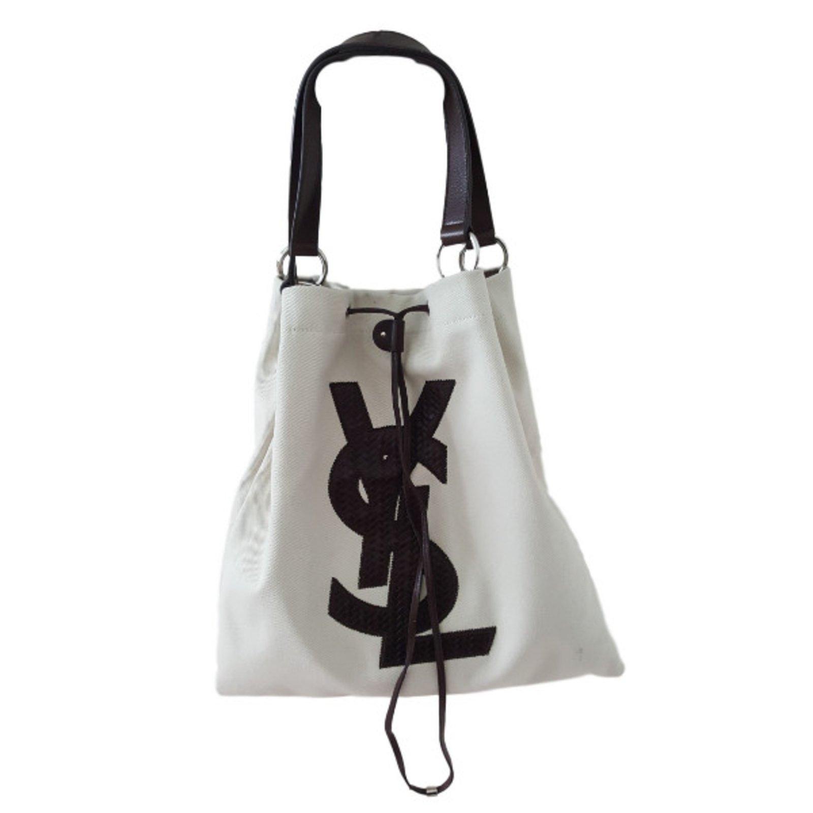 recherche de véritables les dernières nouveautés qualité authentique Sacs à main Yves Saint Laurent Sacs à main Toile Autre ref ...