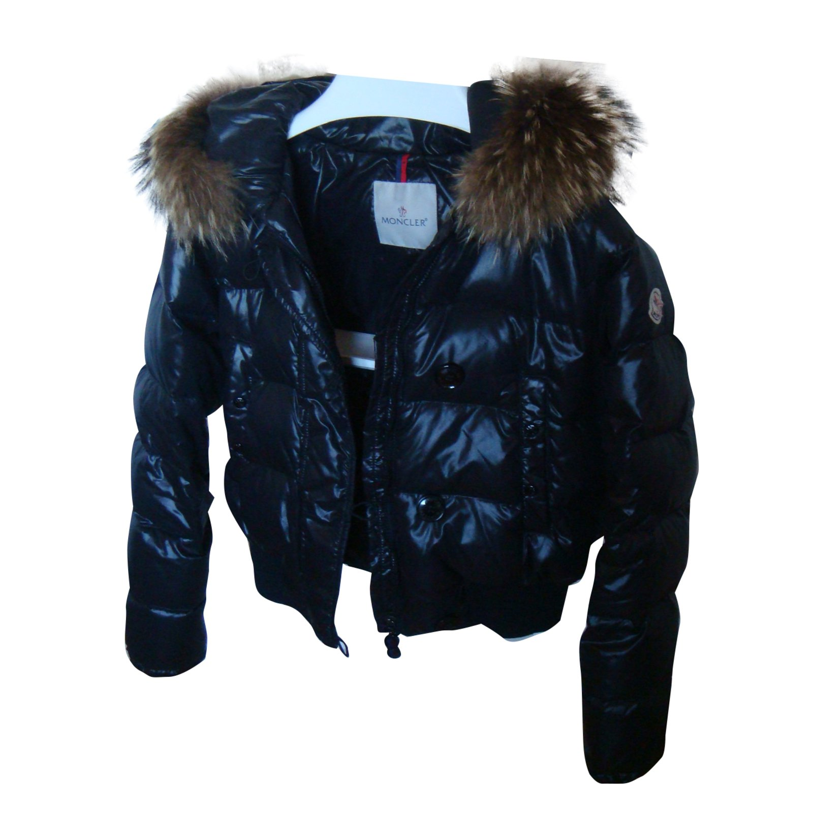 Moncler Alpin Coats, Outerwear Other Black ref.30603