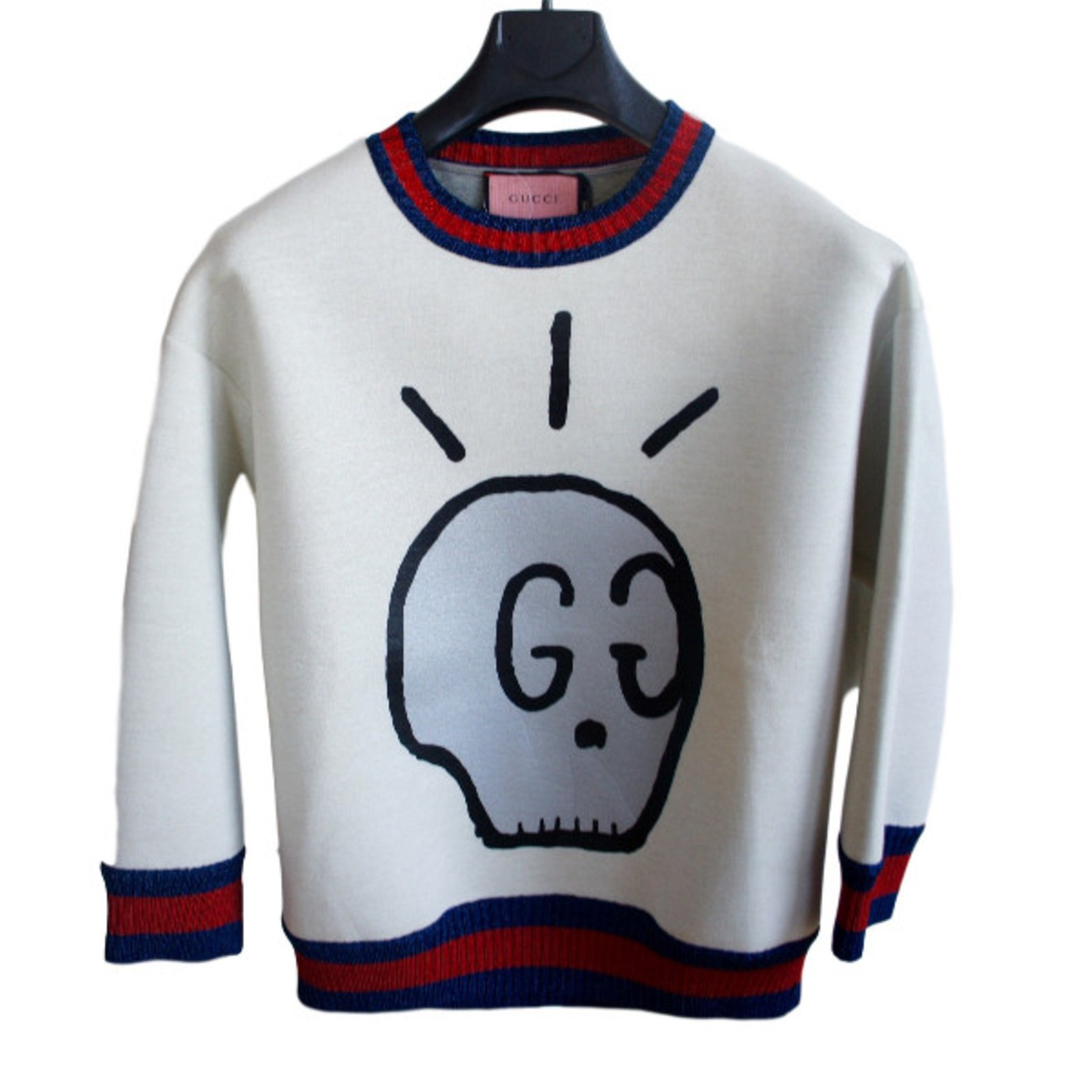 6c7c40f0f Gucci Gucci Ghost Sold out Knitwear Cotton Multiple colors ref.30616 ...