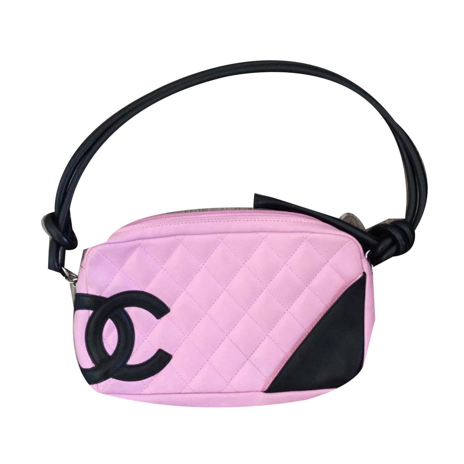 c3e7e16513d Sacs à main Chanel Cambon Cuir Rose ref.30652 - Joli Closet